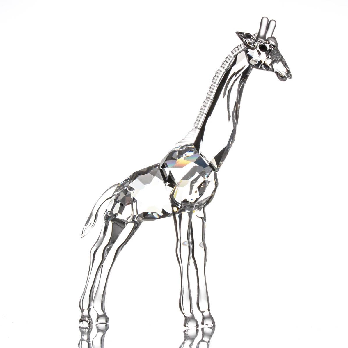 Swarovski Crystal Giraffe Figurine
