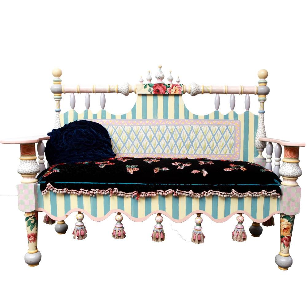 MacKenzie-Childs Bench