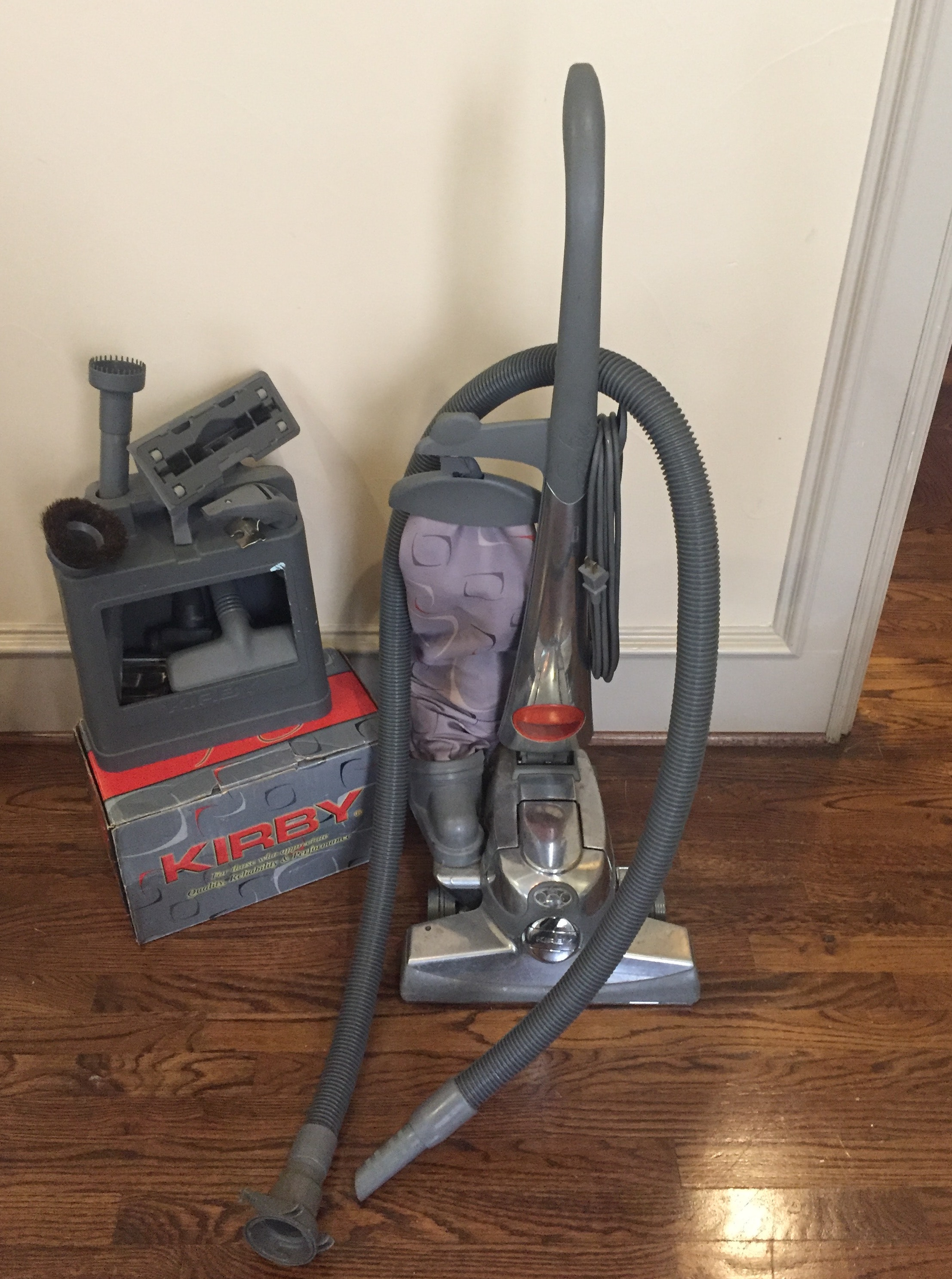 Kirby Vacuum with Accessories