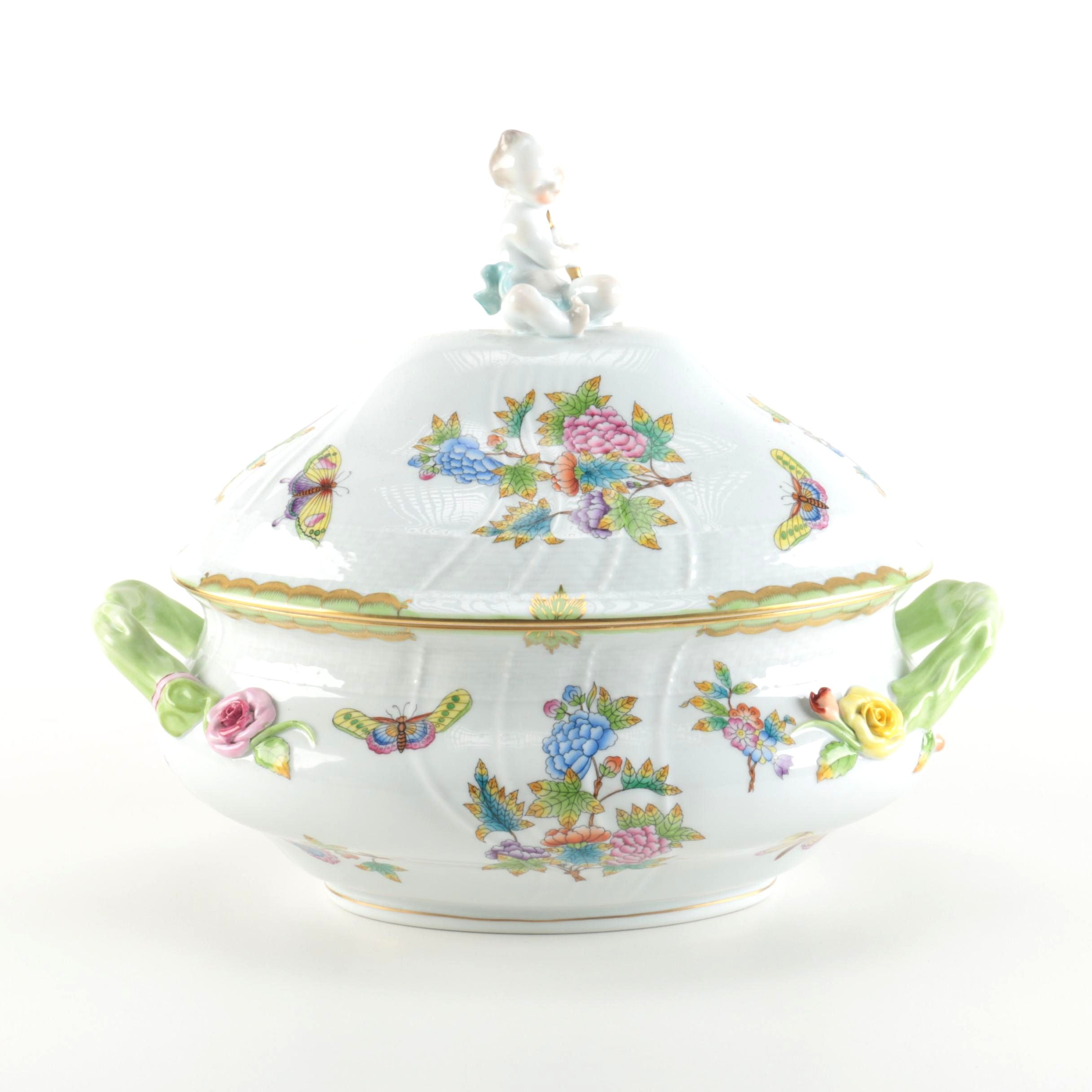 "Herend ""Queen Victoria"" Tureen"