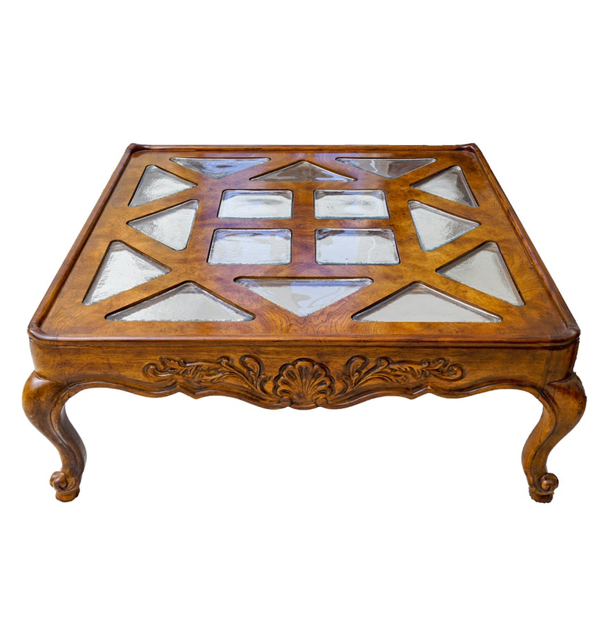 Drexel heritage coffee table ebth drexel heritage coffee table geotapseo Image collections