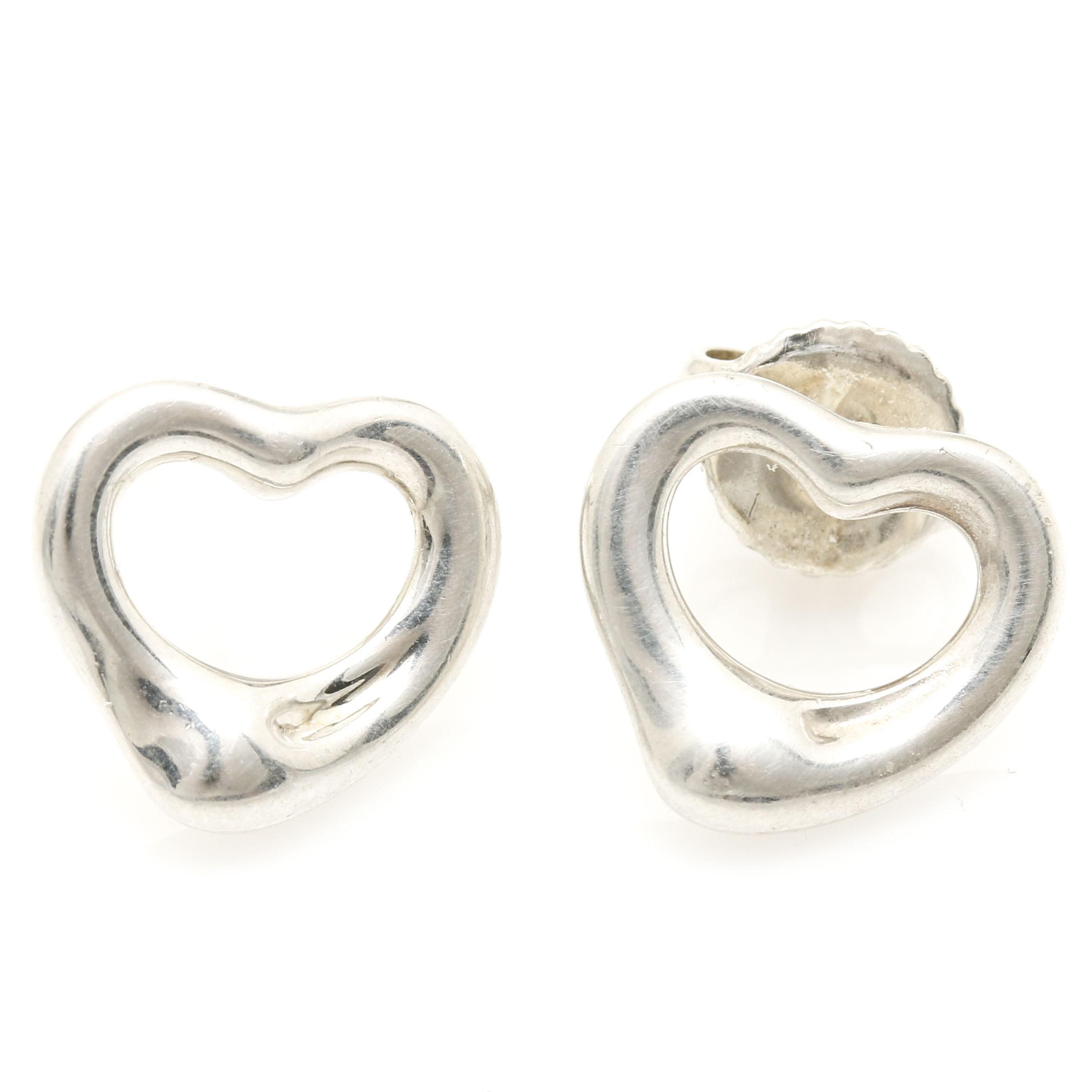 Tiffany & Co. Elsa Peretti Heart Earrings