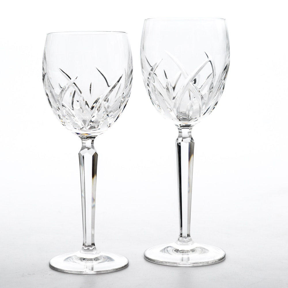 "15 Piece Waterford Crystal ""Lucerne"" Wine Glasses"