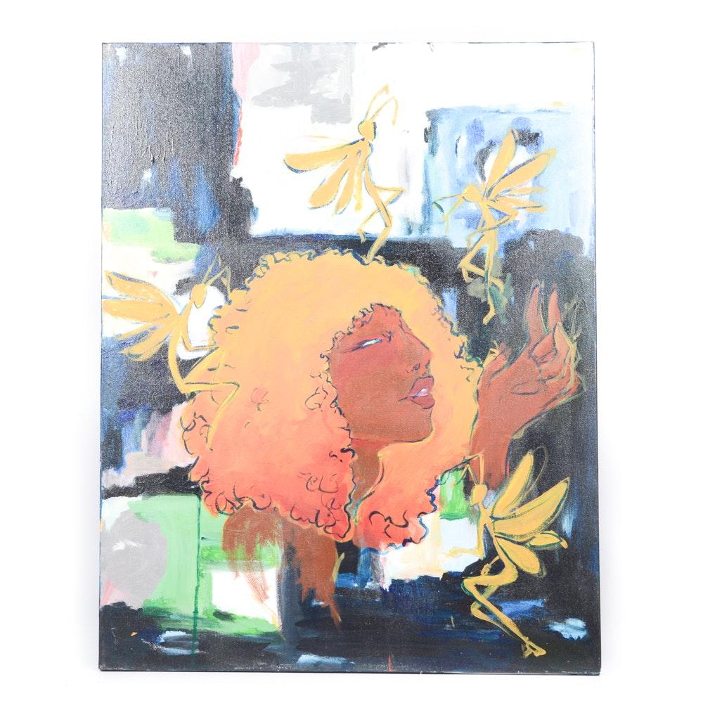 Gio Peterson Original Acrylic on Canvas