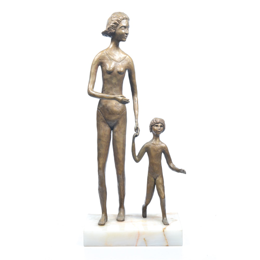 Theodore Haber Bronze Sculpture