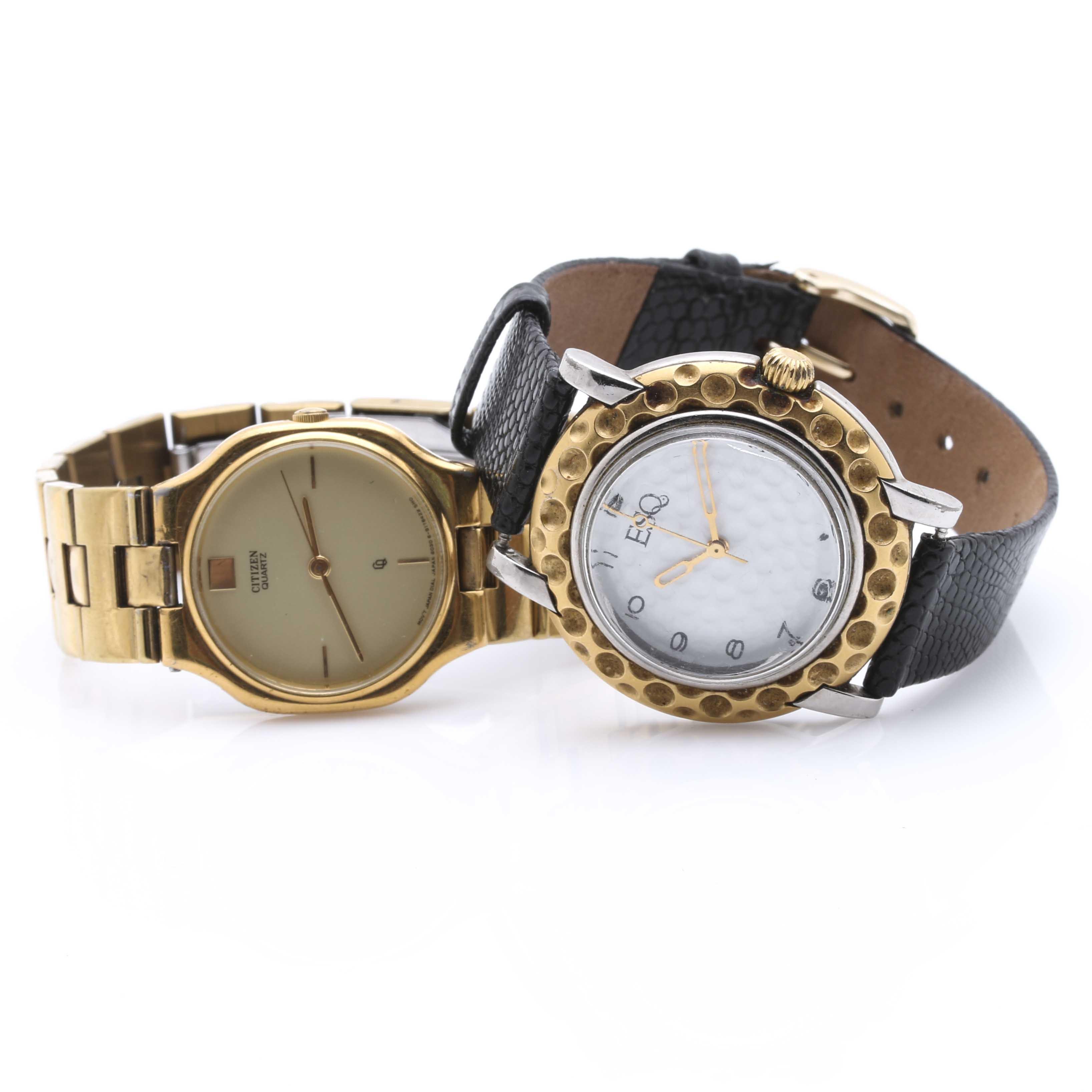 Esquire and Citizen Quartz Wristwatches