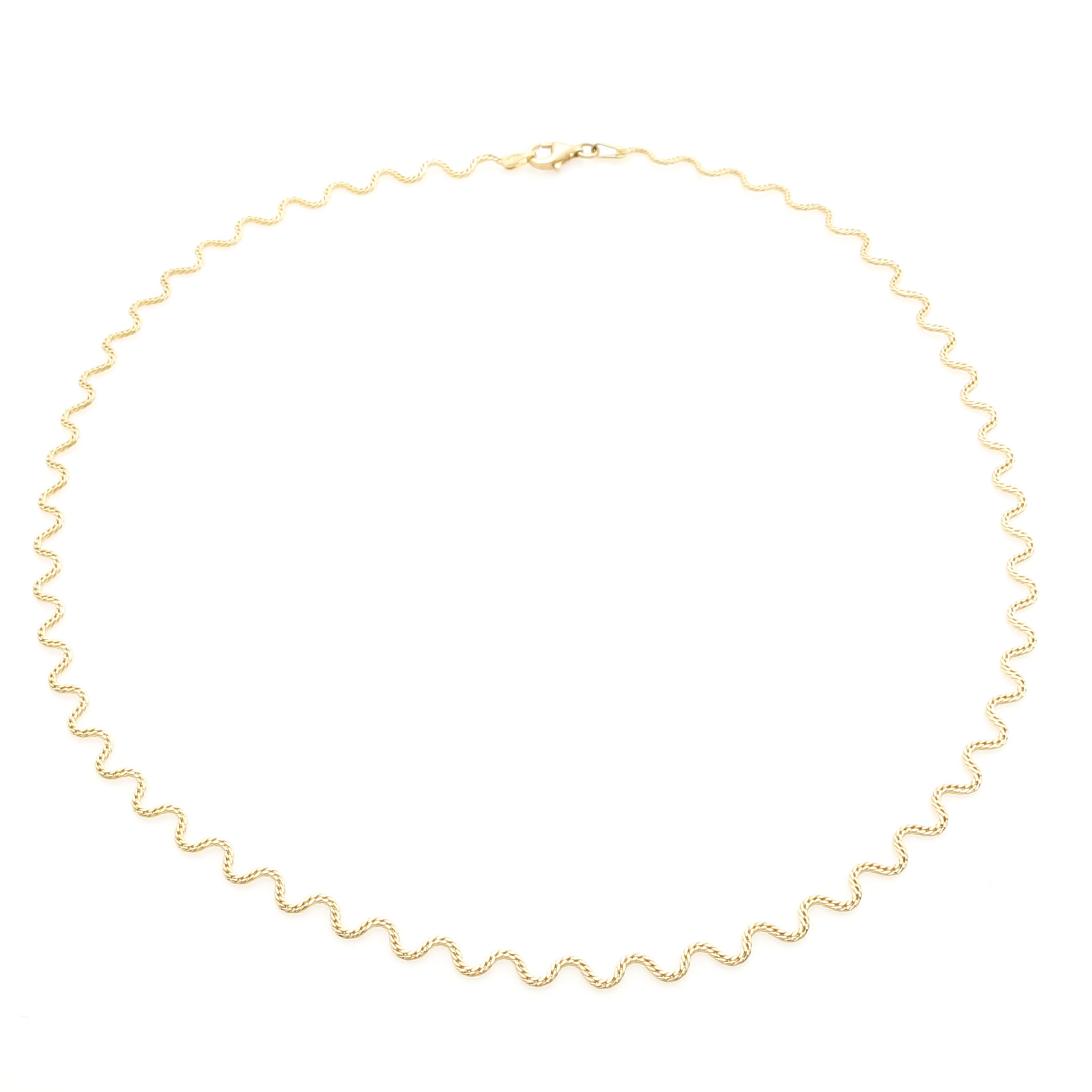 18K Yellow Gold Chain Necklace