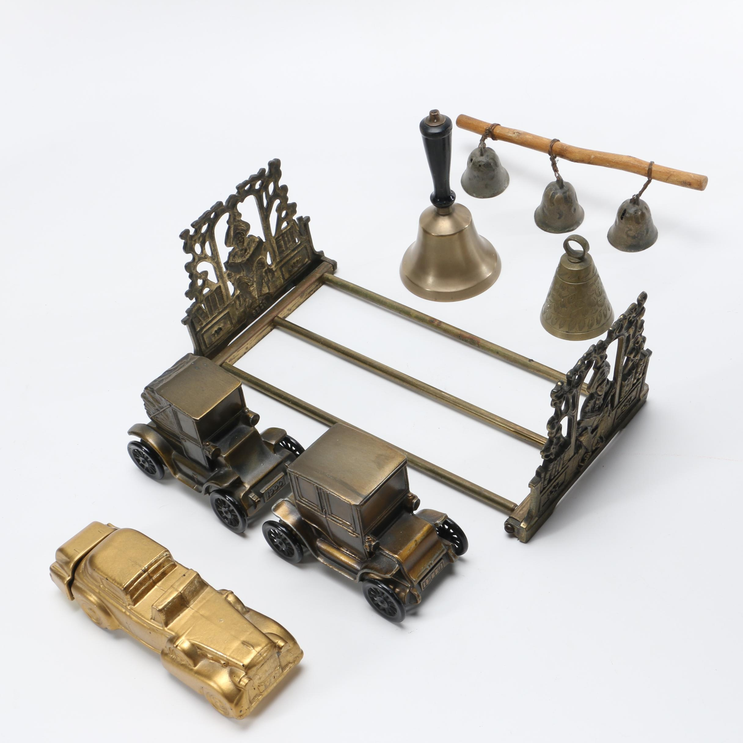 Brass and Base Metal Décor