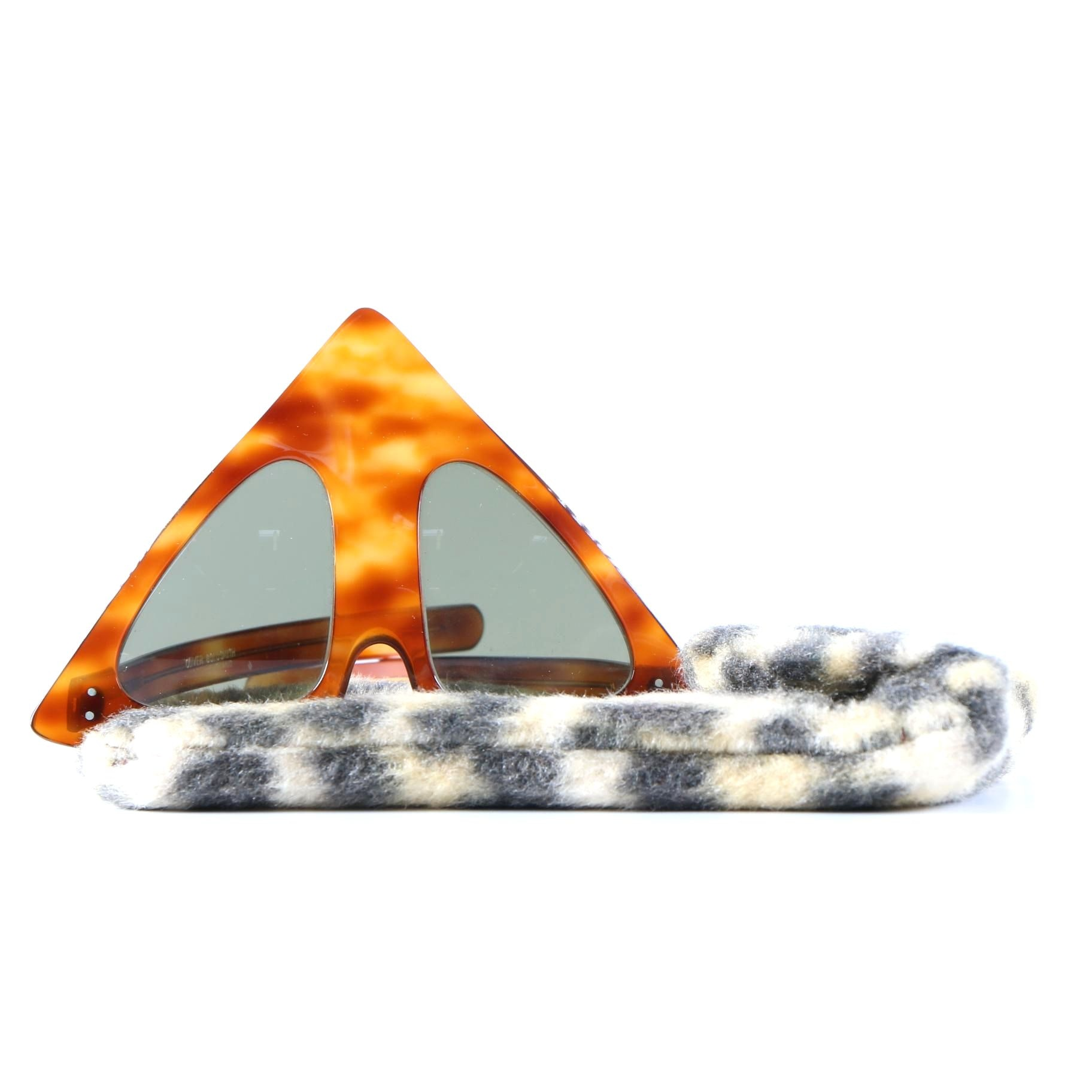 1960s Oliver Goldsmith Pyramid Sunglasses