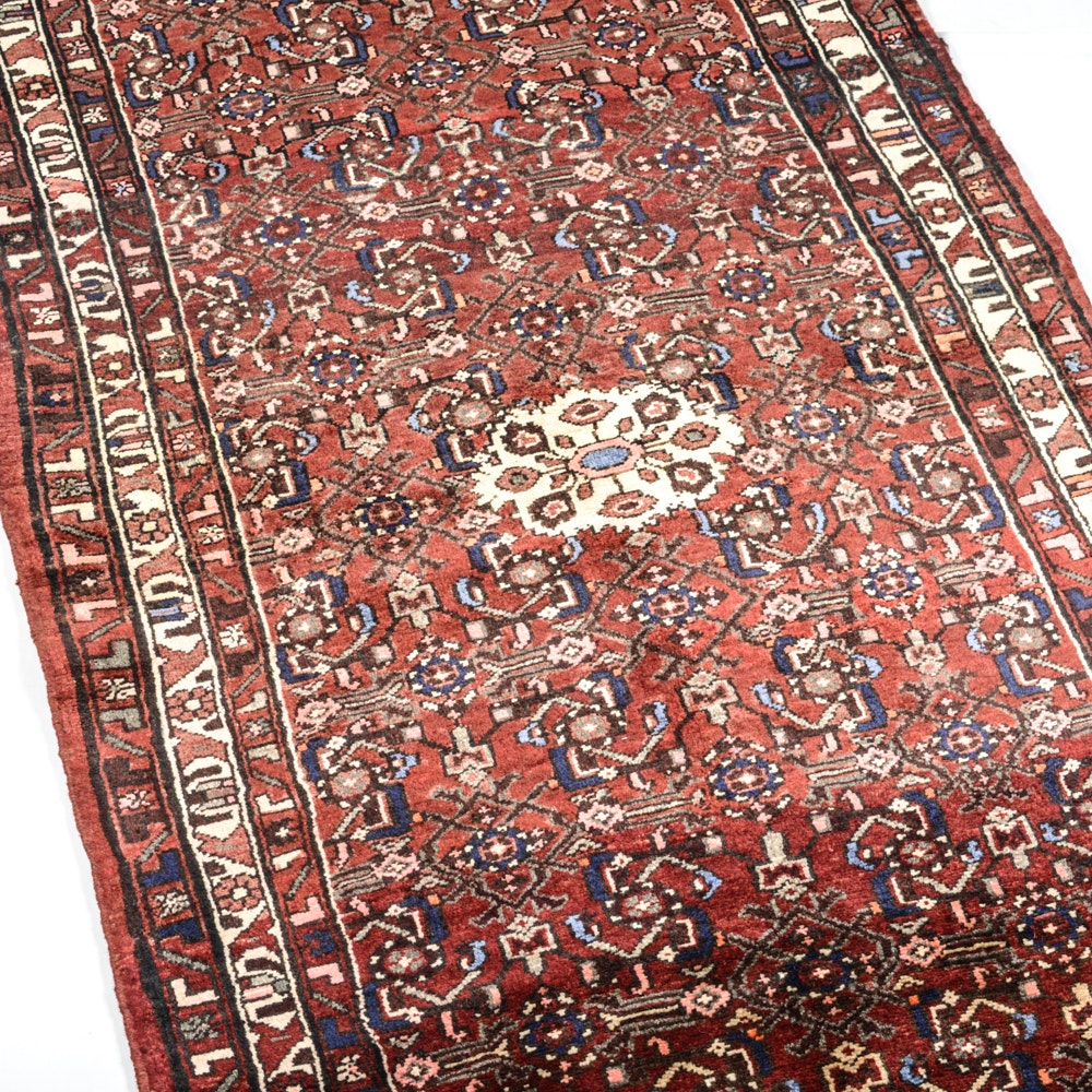 Hand Knotted Persian Mahal Runner