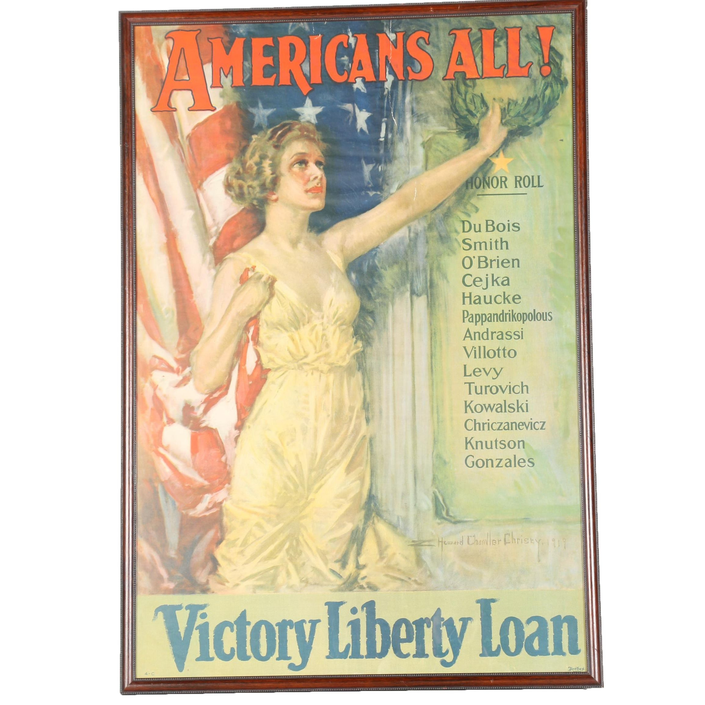 Vintage Victory Liberty Loan Poster