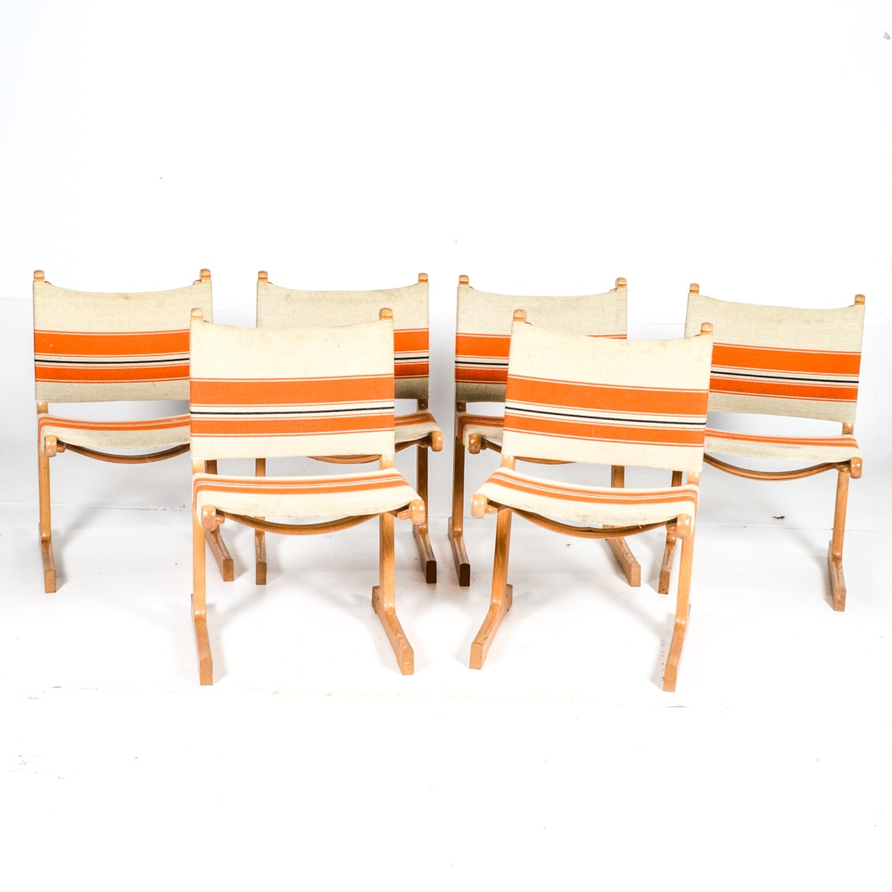 Danish Modern Cantilever Chairs by Ditte & Adrian Heath