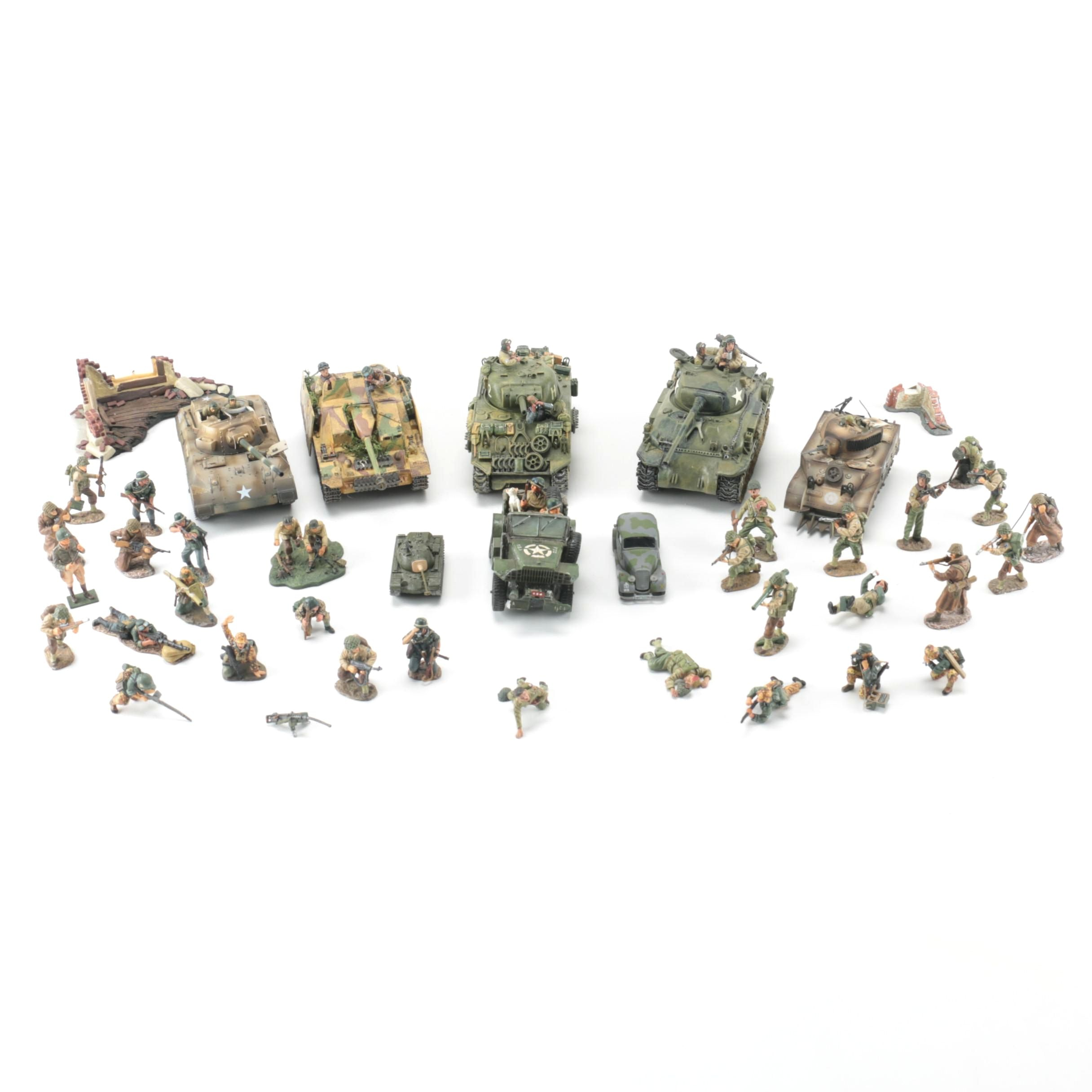Collection of World War Two Figurines