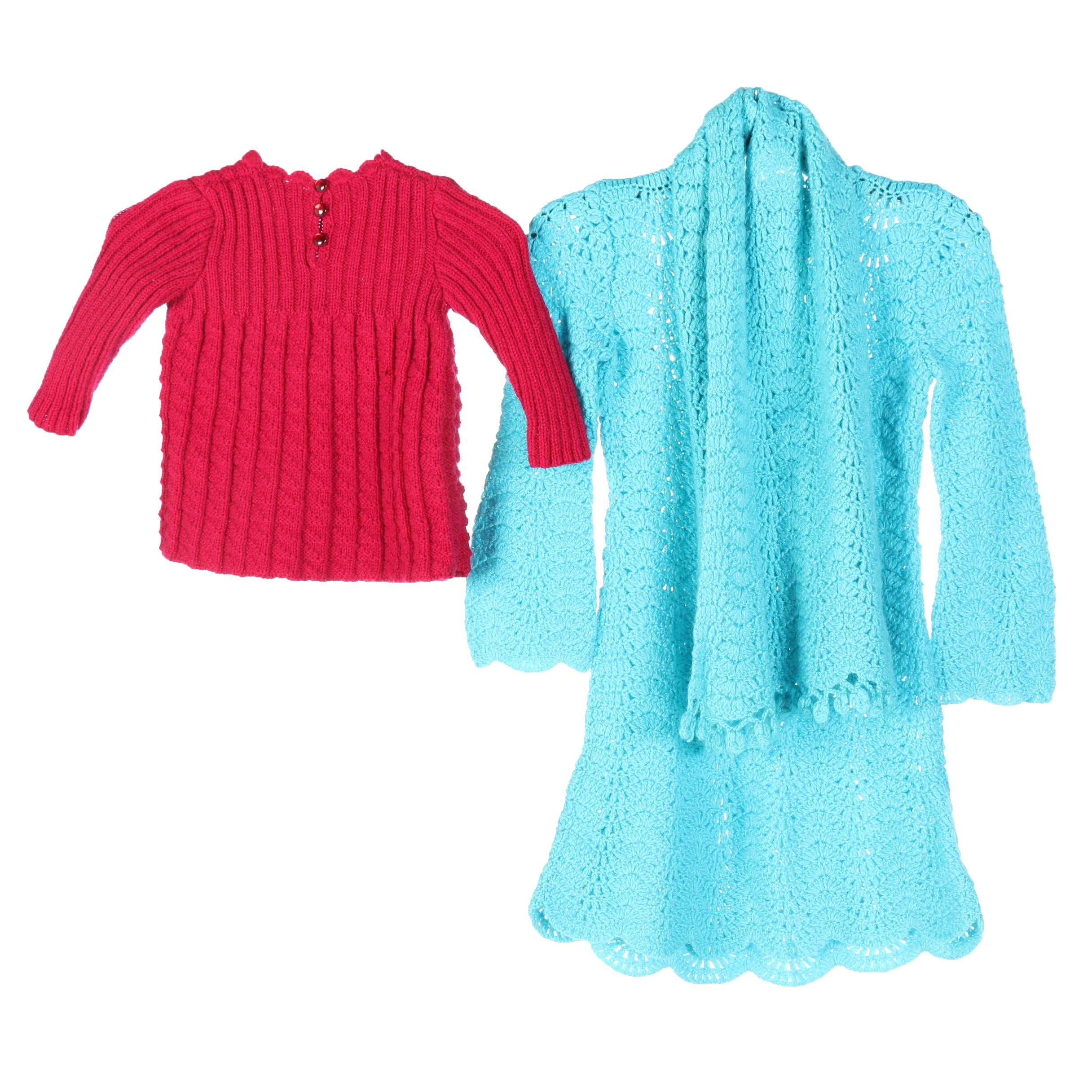 Crocheted and Knitted Garments