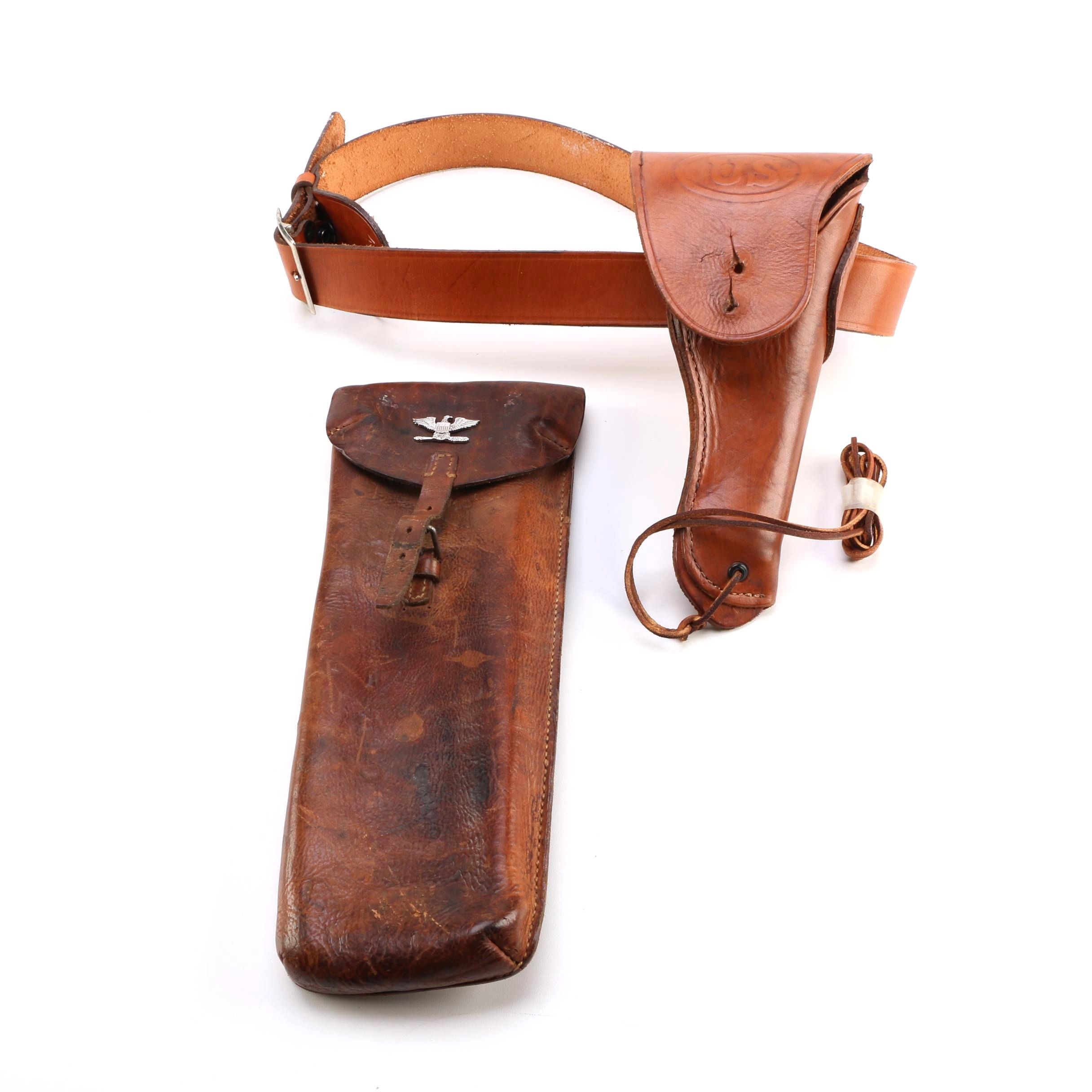 Leather Map Case and Holster