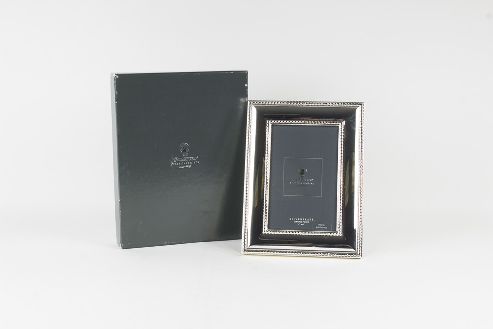 Waterford Silver Plated Picture Frame