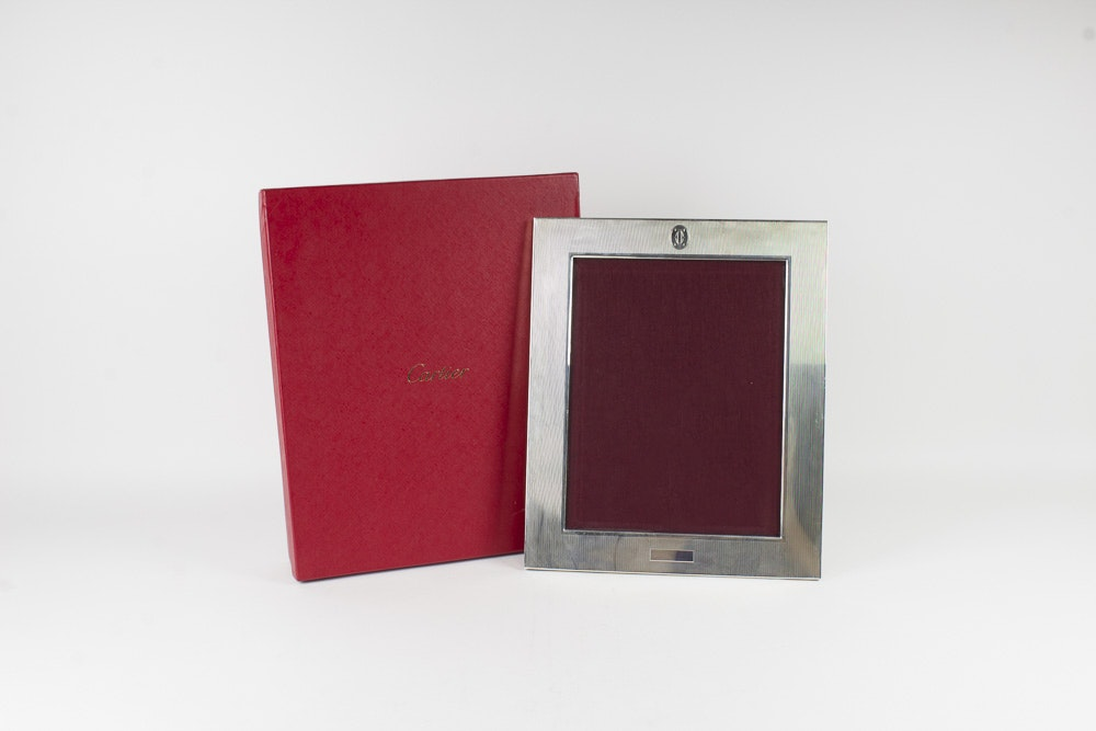 Cartier Sterling Silver Picture Frame
