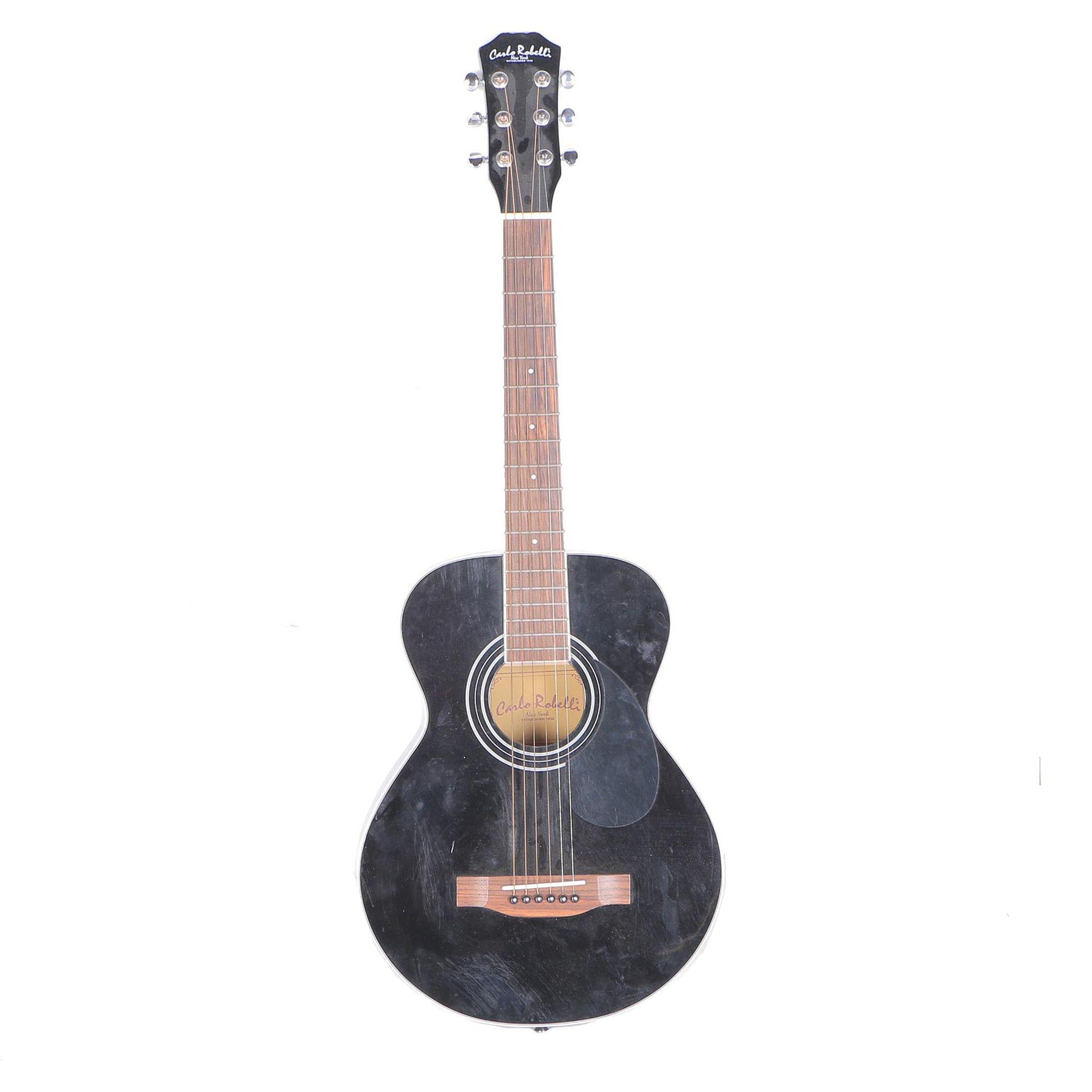 Small-Scale Carlo Robelli Acoustic Guitar