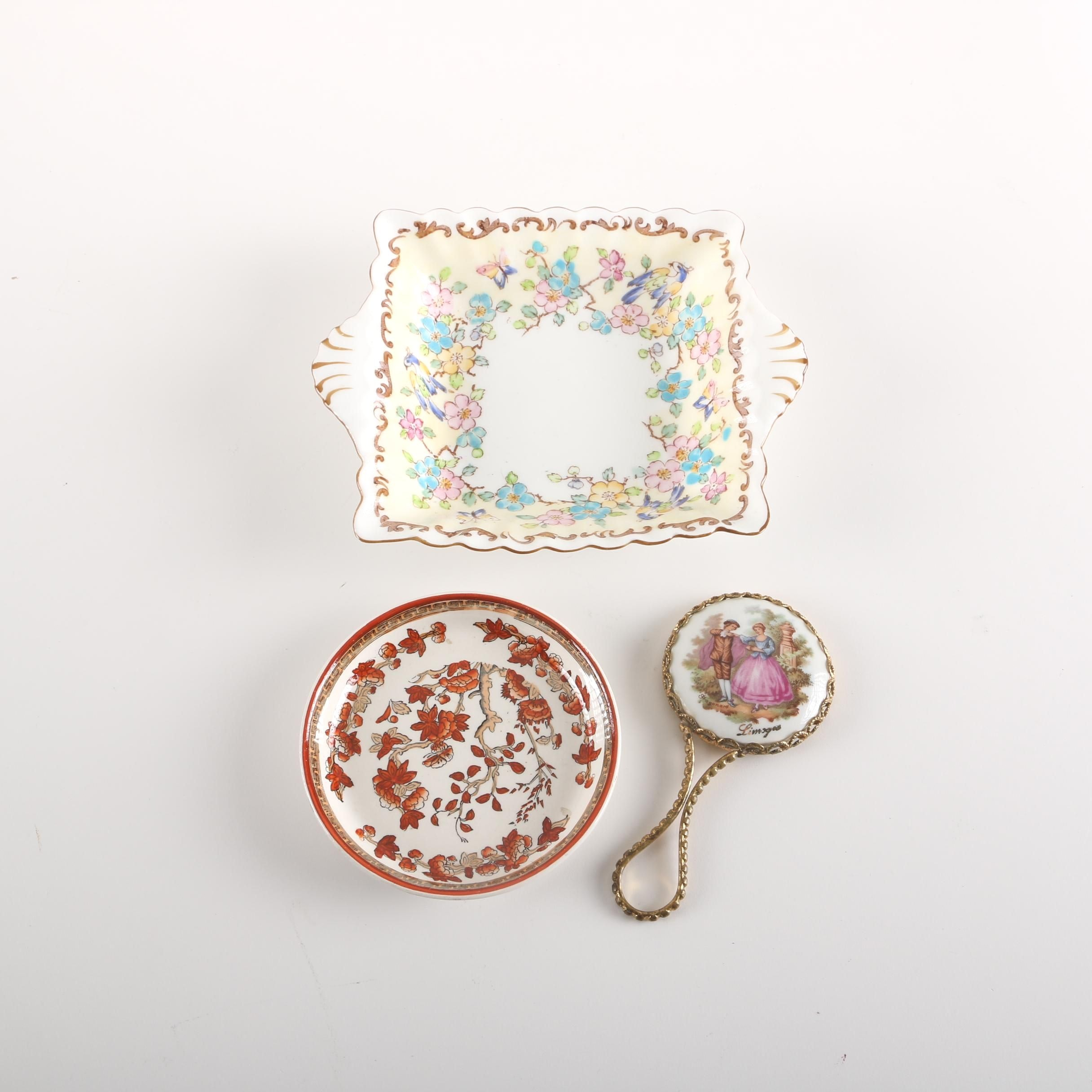 English and French Porcelain Including Limoges