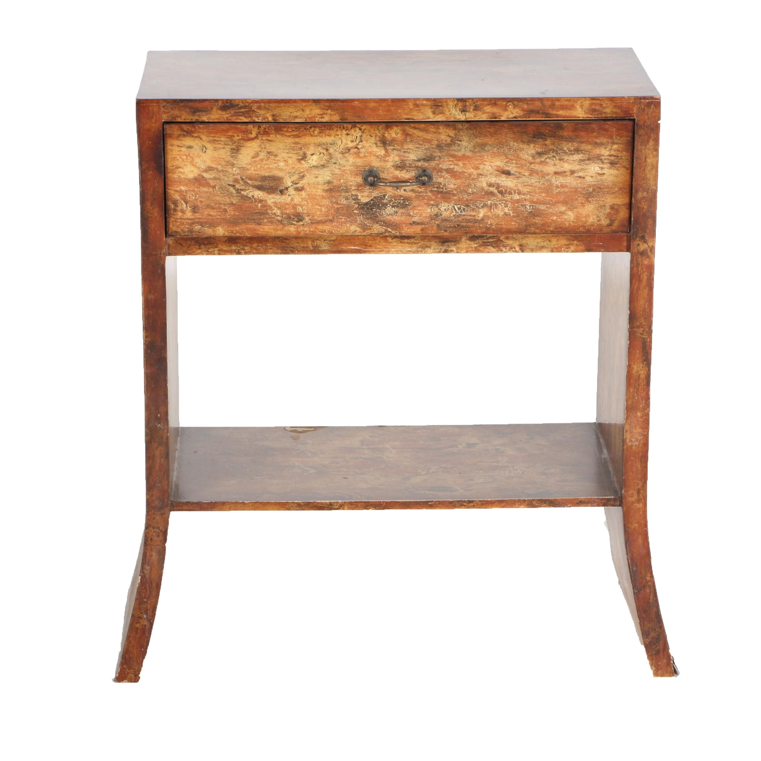 Modern Rustic Accent Table