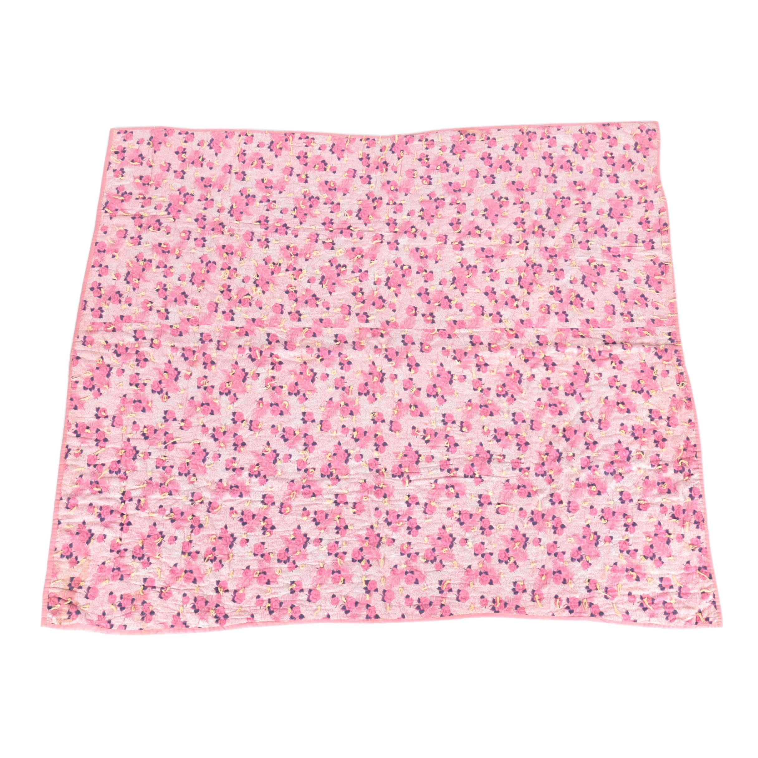 Rose Pattern Quilt