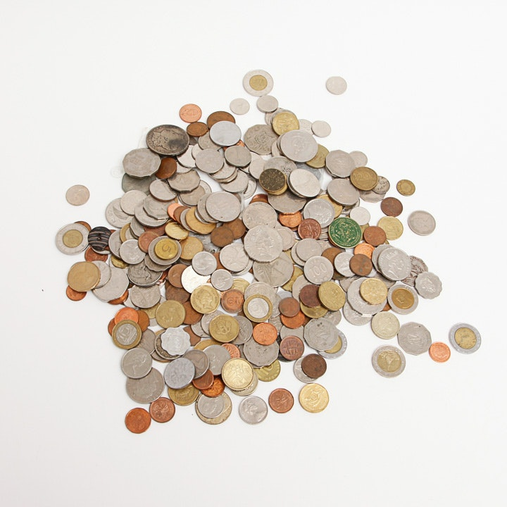 Generous Collection of Foreign Currency