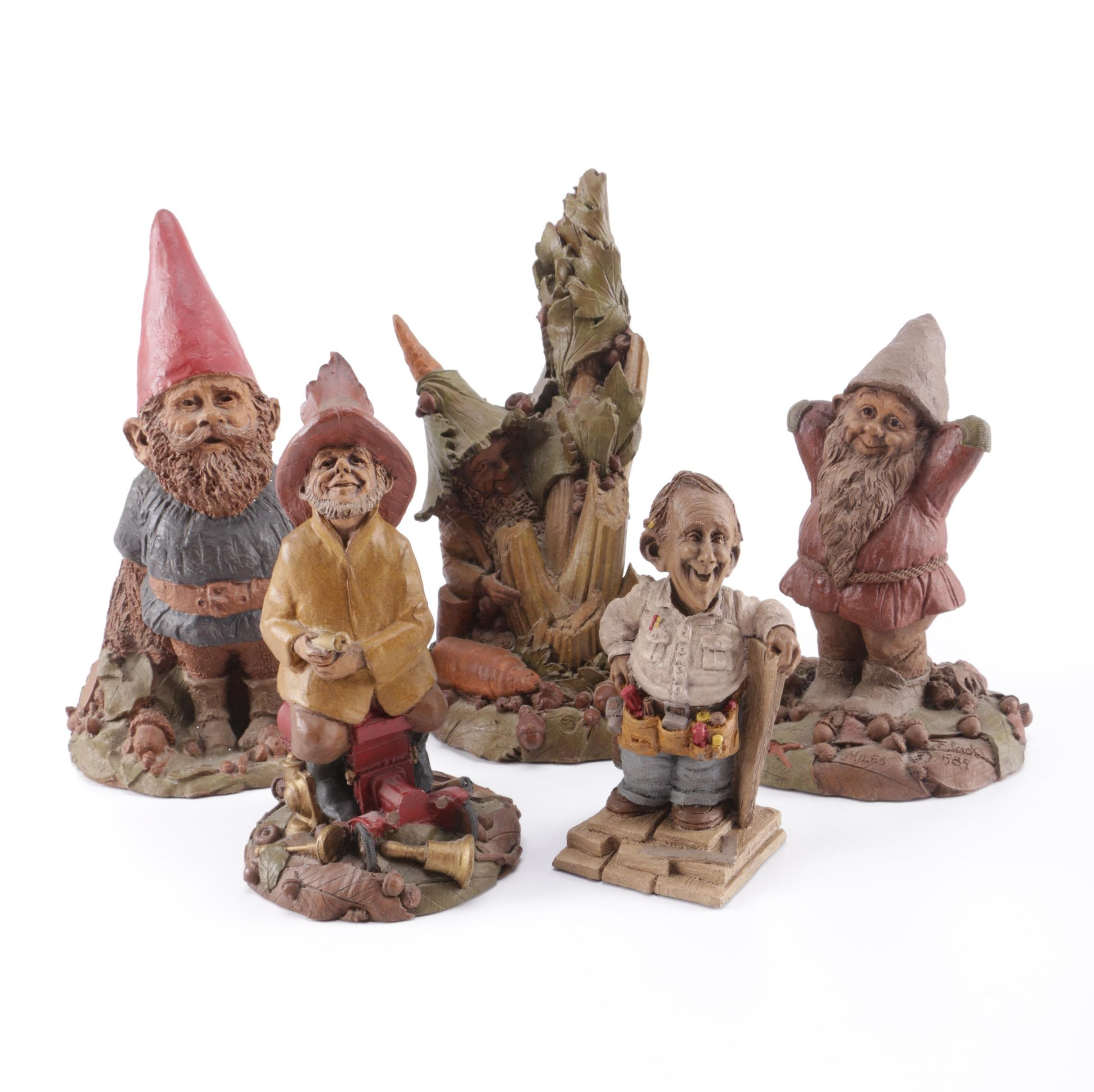 Collection of Tom Clark Gnomes and Figurines