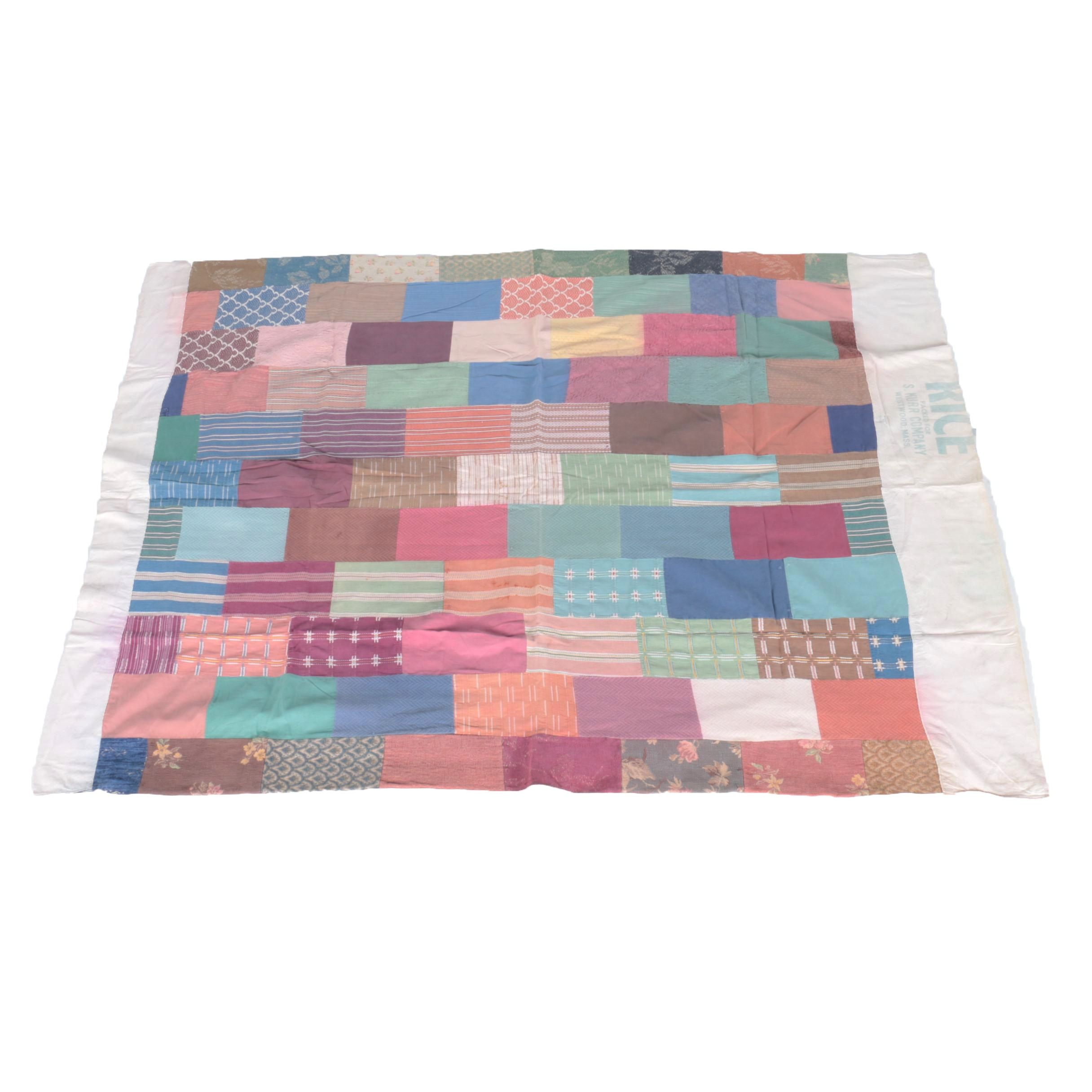 Rice Bag Quilt Style Coverlet
