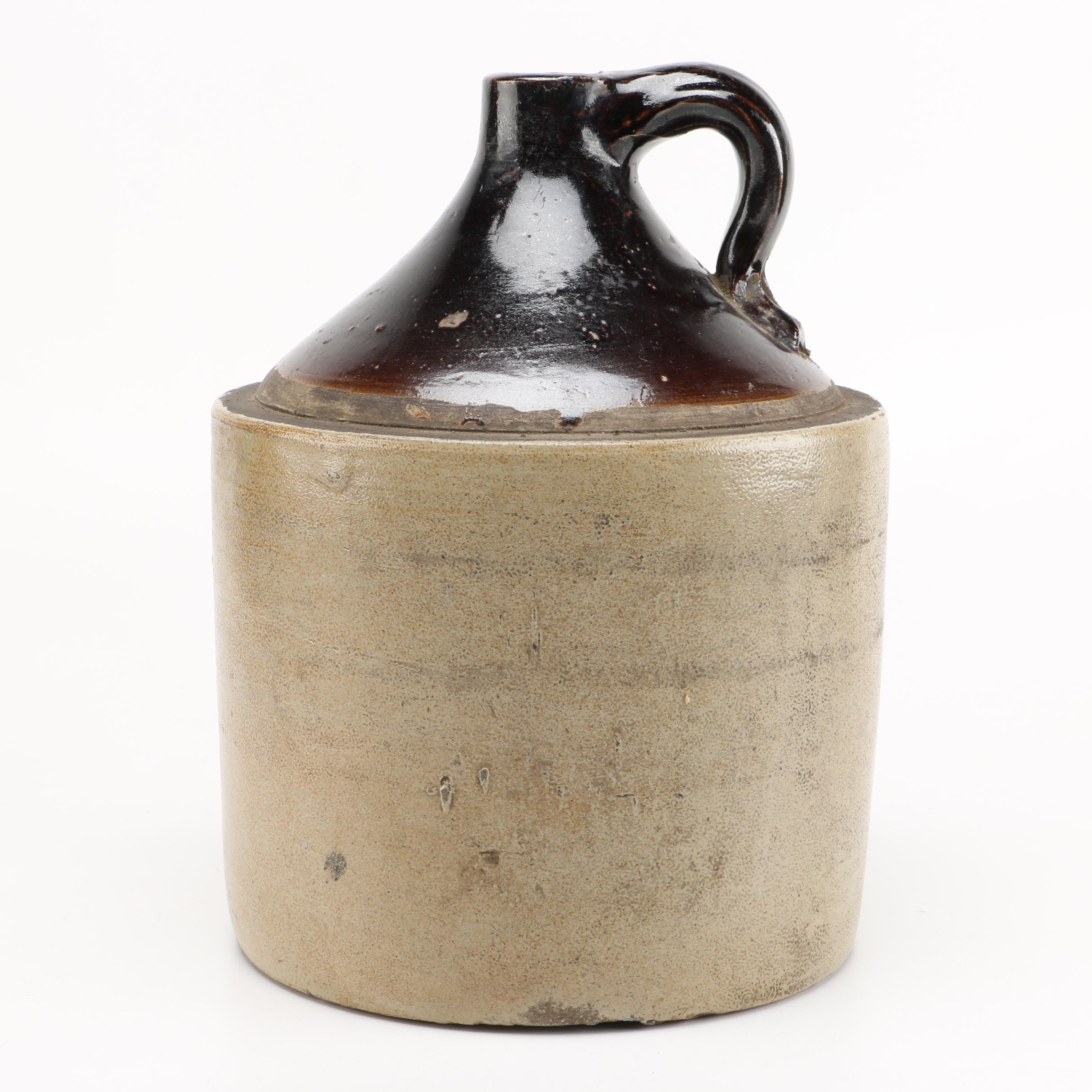 Vintage Stoneware Crock Jug