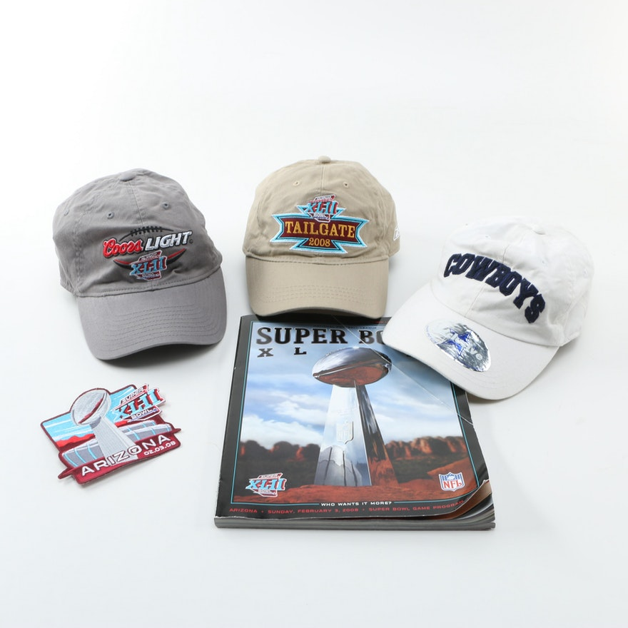 3e7c561cd69 Collection of Hats and Super Bowl Souvenirs   EBTH