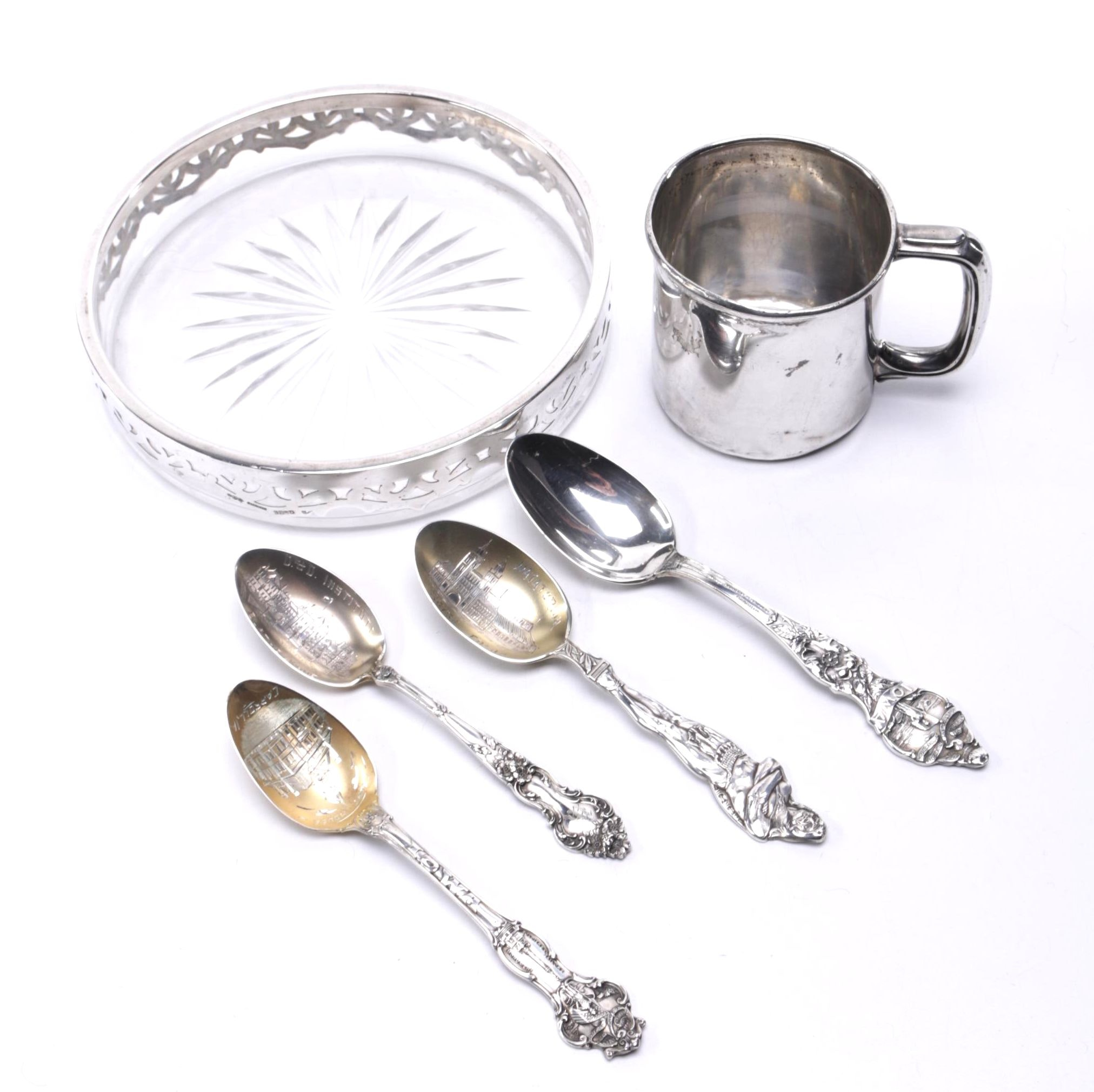 American Sterling Silver Tableware Feature Gorham