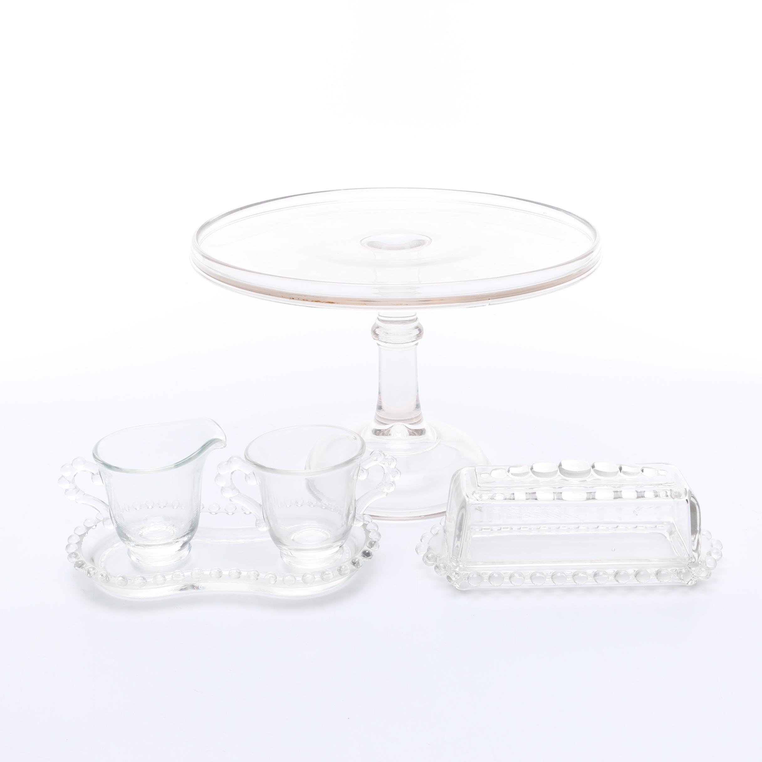 Glass Servingware Items