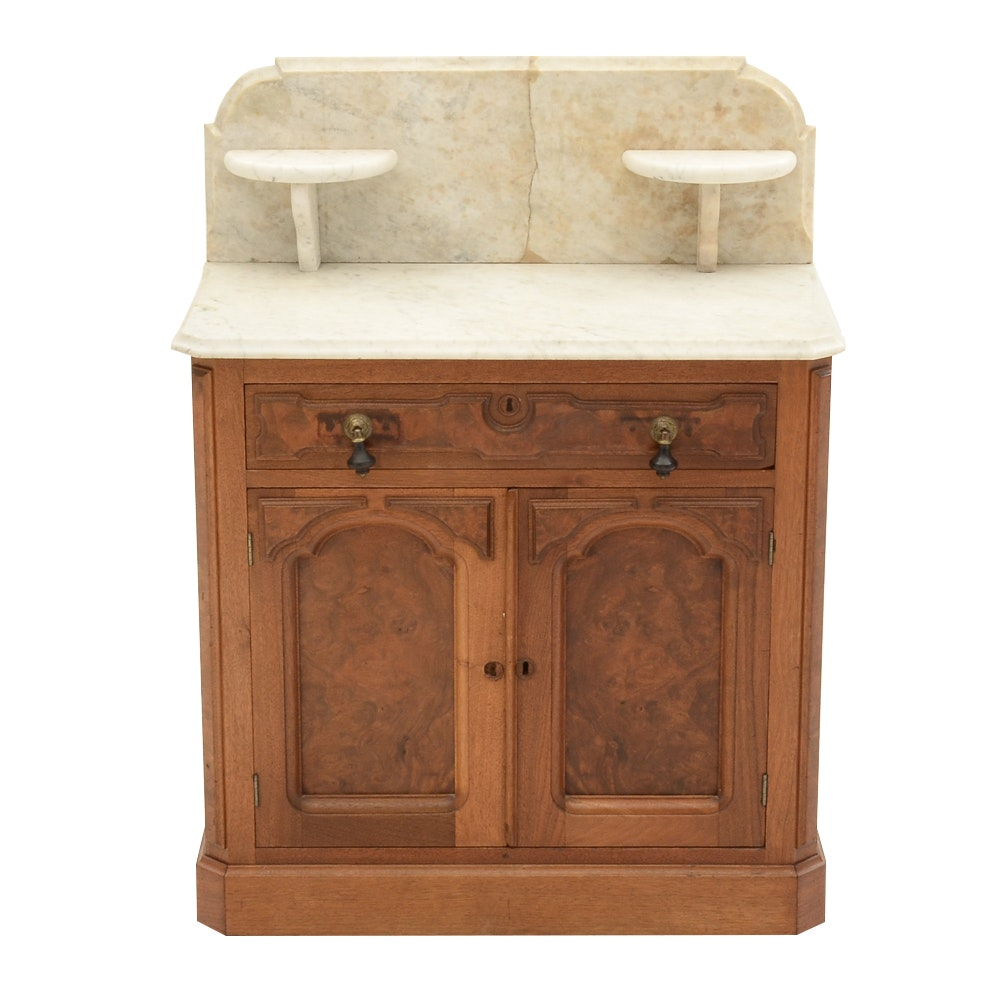 Antique Victorian Marble Top Washstand