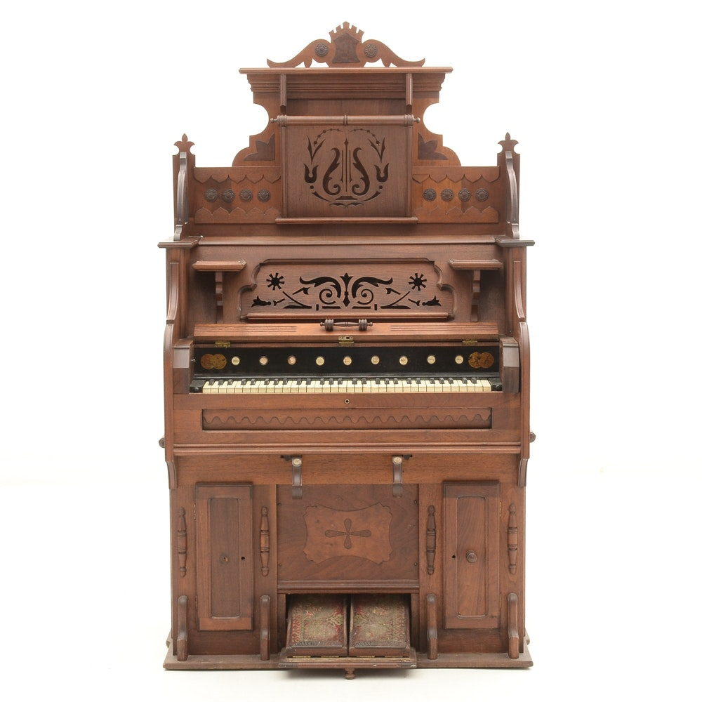 Victorian B. Shoninger Pump Organ