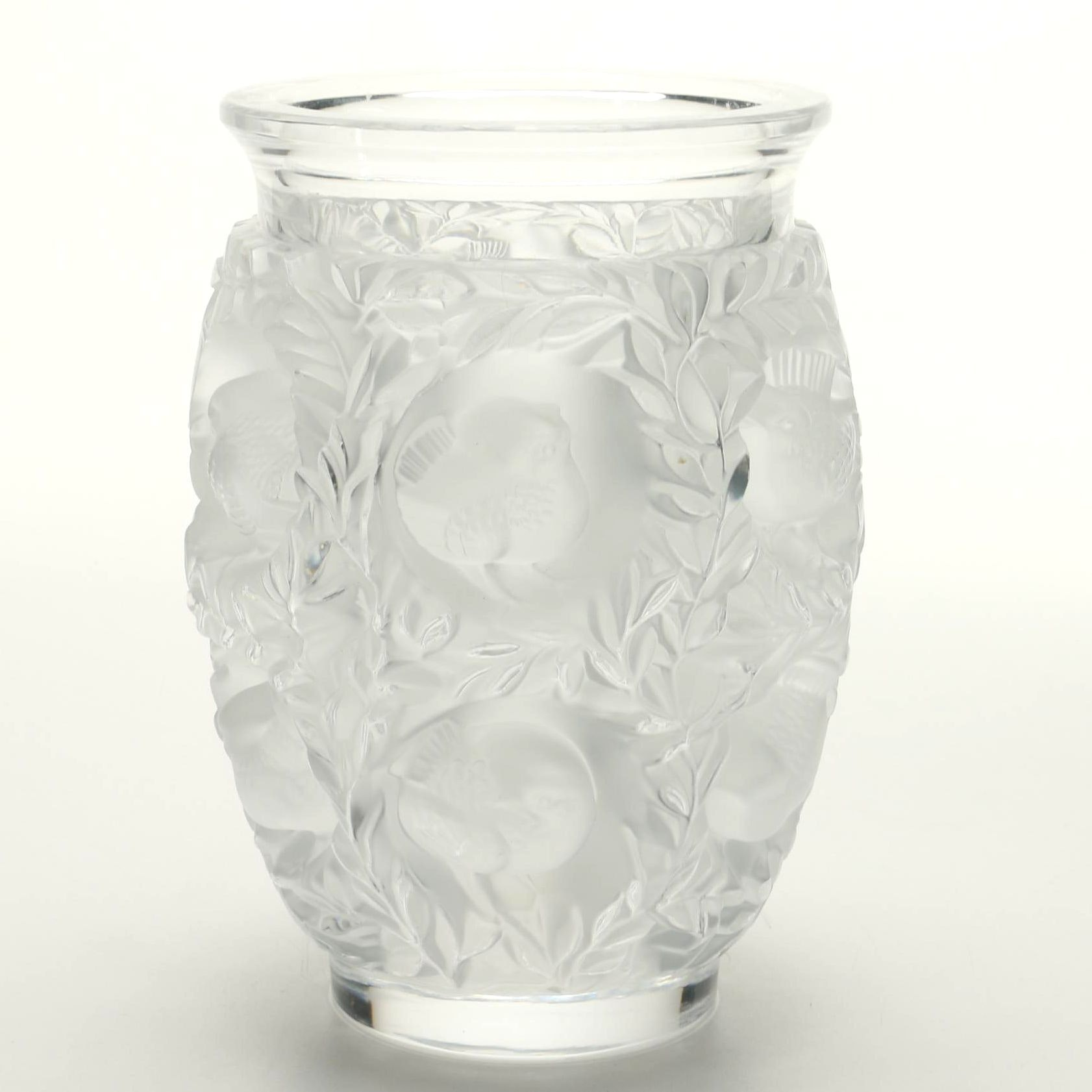 Crystal Vase by Lalique