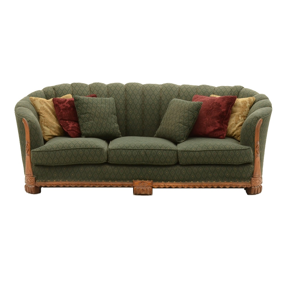 1930s Carved Sofa