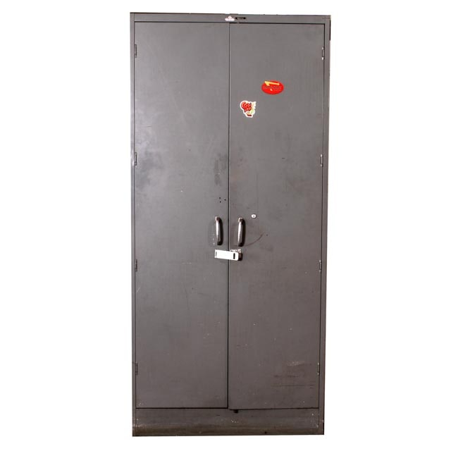Large Grey Tool Locker