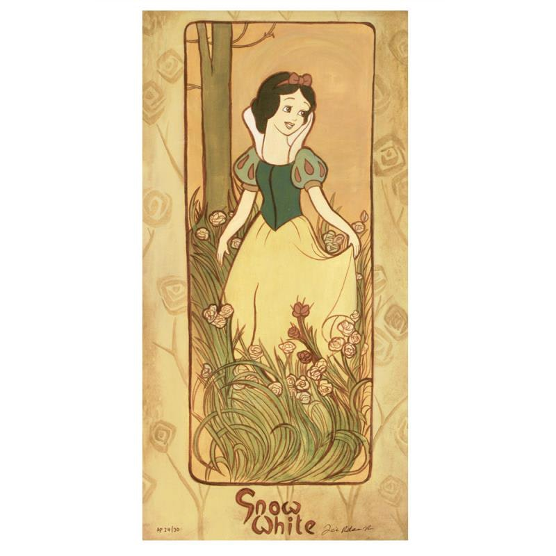 """""""Snow White"""" Limited Edition by Tricia Buchanan-Benson"""