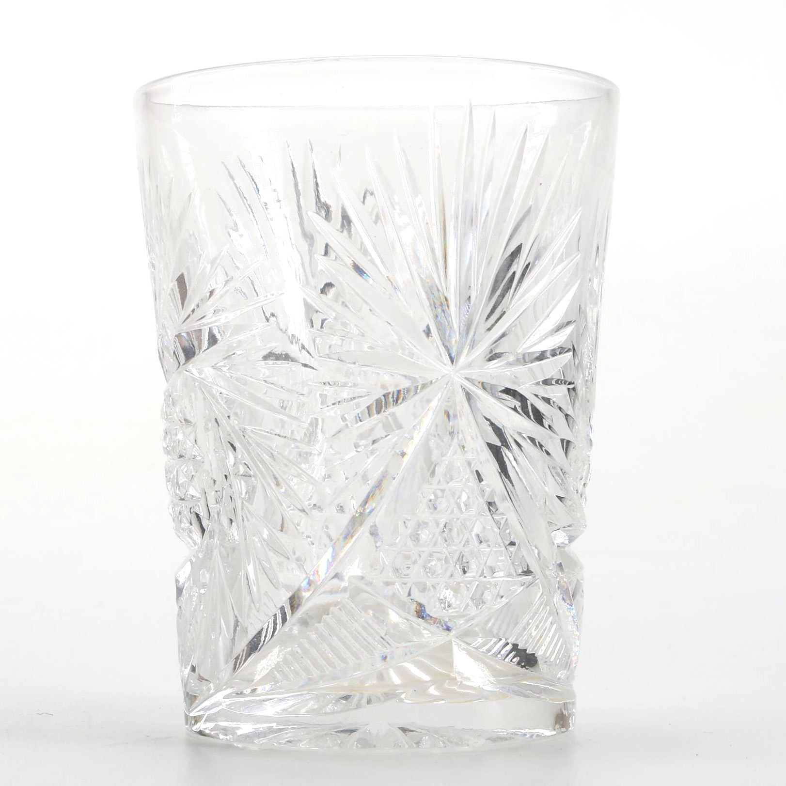 American Brilliant Period Cut Glass Tumbler