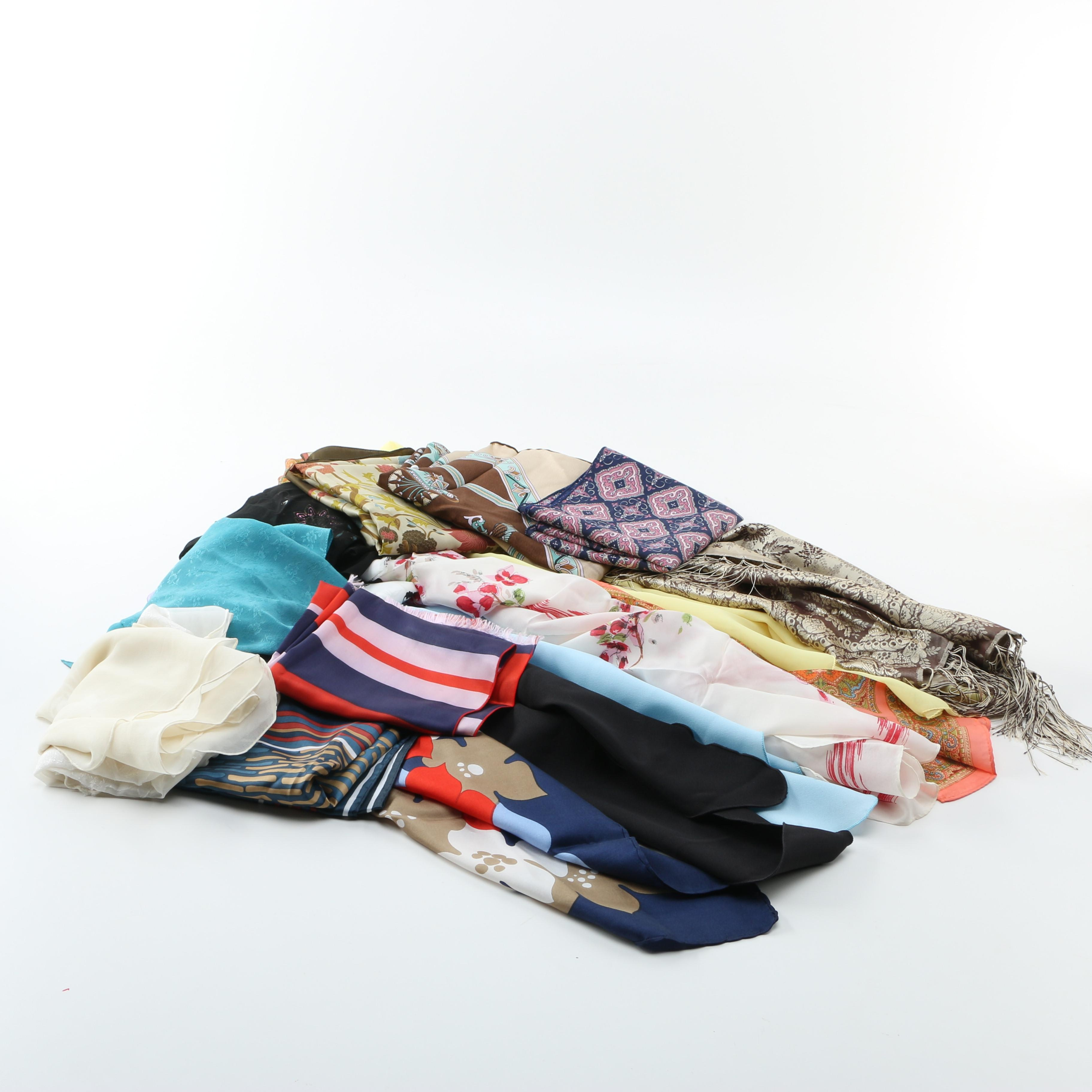 Large Selection of Scarfs