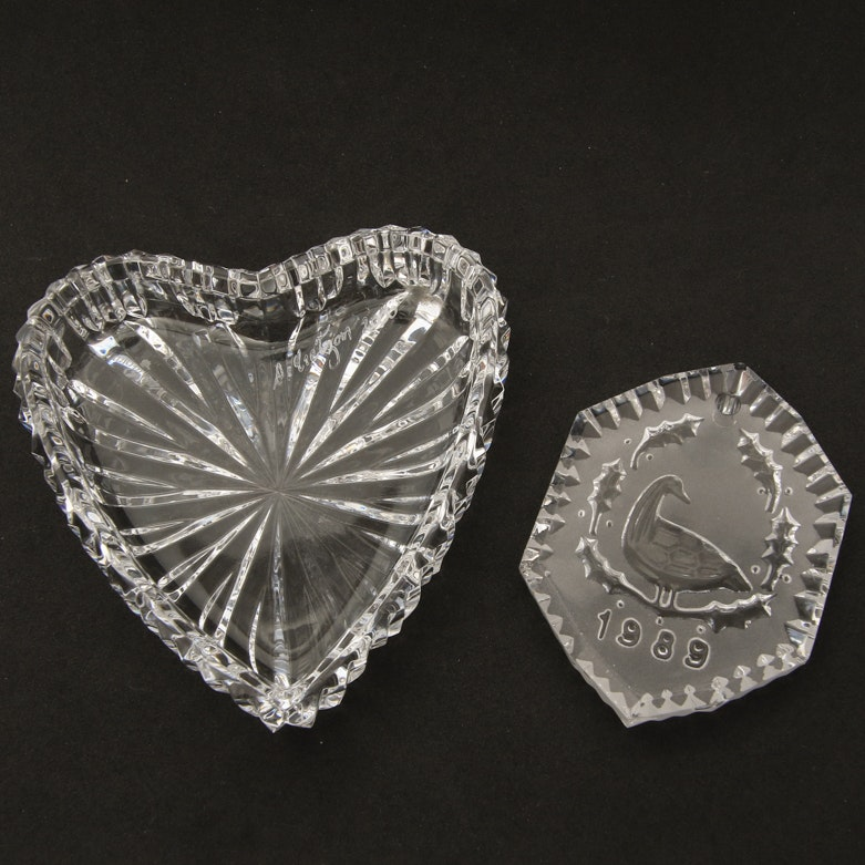 Waterford Crystal Dish and Ornament