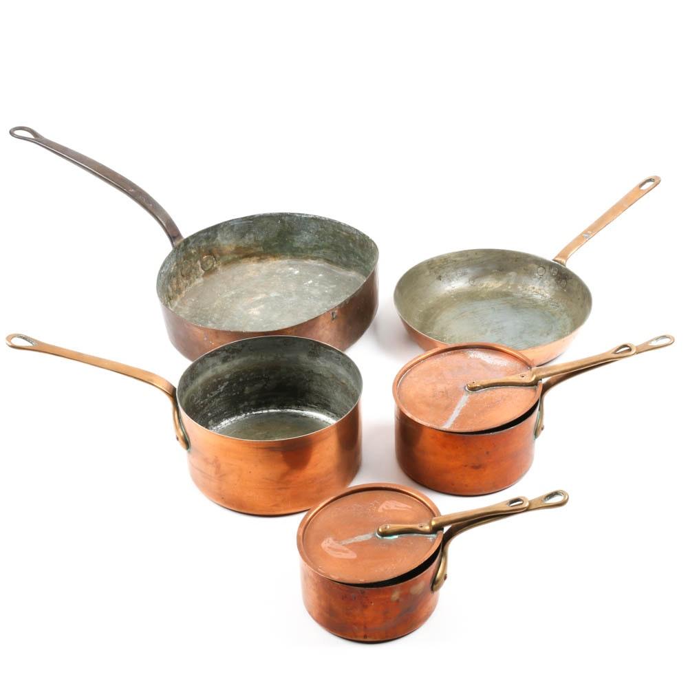 Copper Cookware Featuring Bazar Français