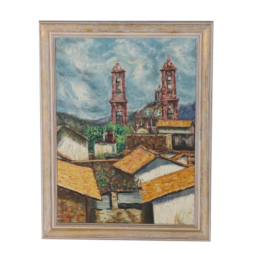 Original Oil Painting by Muzillo
