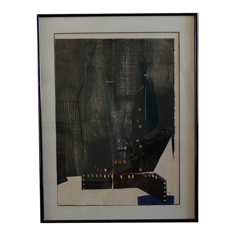 Antoni Clavé Abstract Serigraph