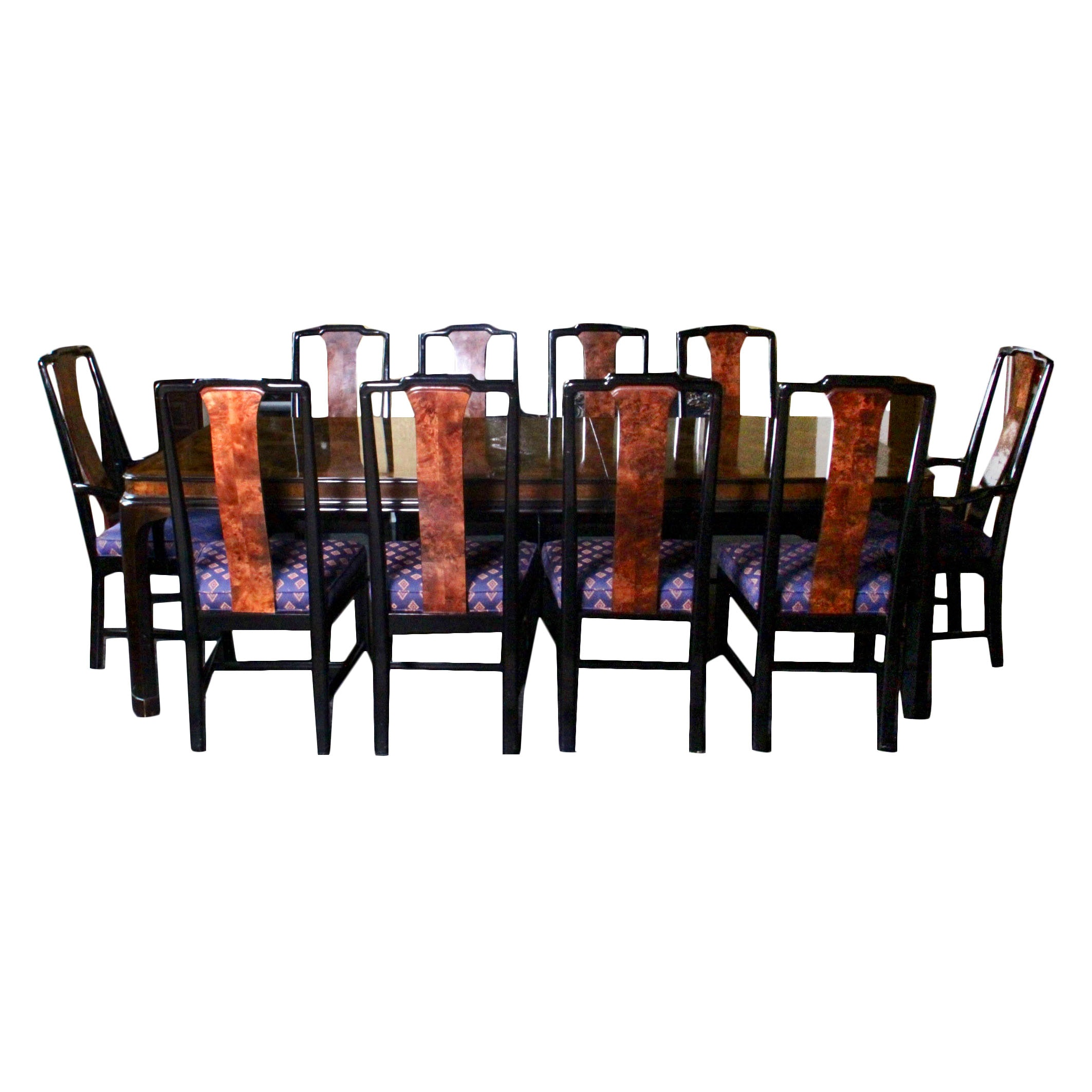 Drexel Heritage Furnishings Dining Table and Chair Set