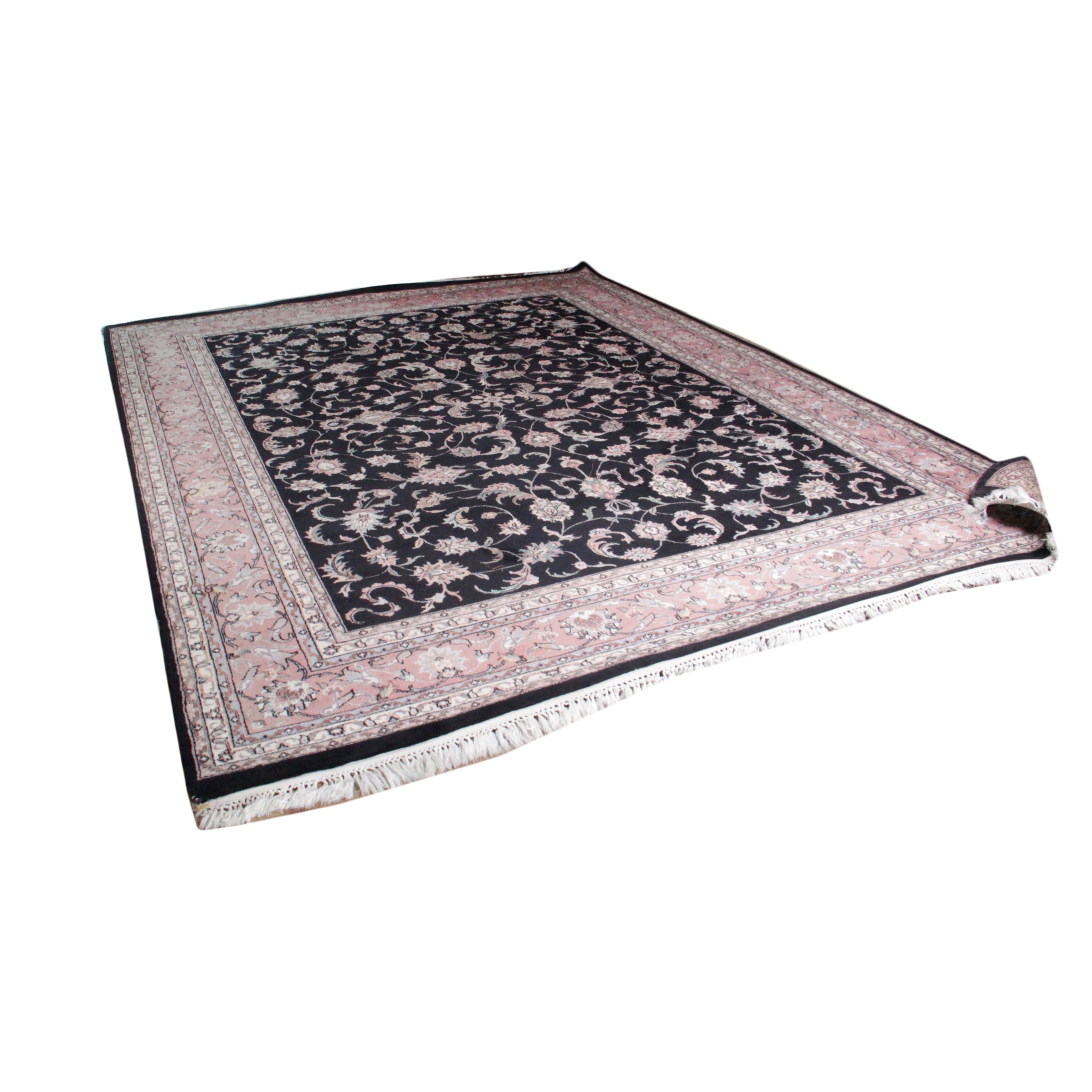 Machine Woven Wool Room Size Area Rug
