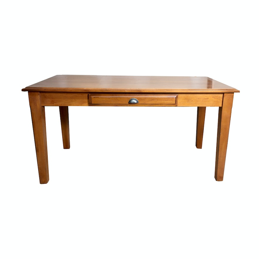 Parker Desk By Pottery Barn EBTH - Pottery barn parker coffee table