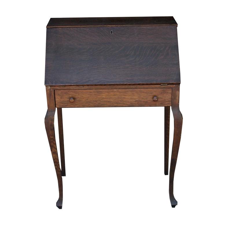 Early 20th Century Oak Secretary Desk by Wilhelm Furniture Co.