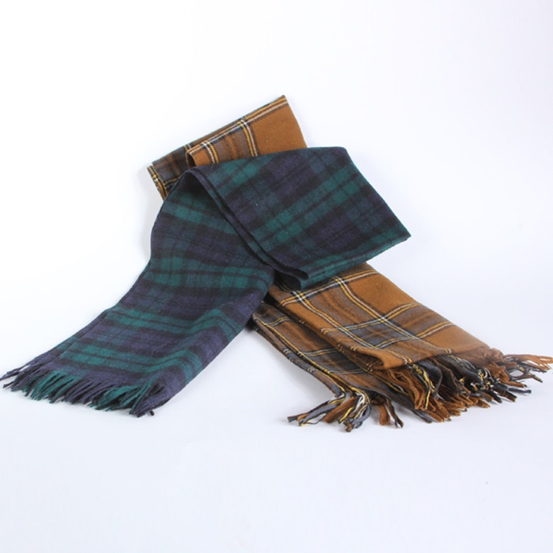 Men's Wool Scarves including Pendleton