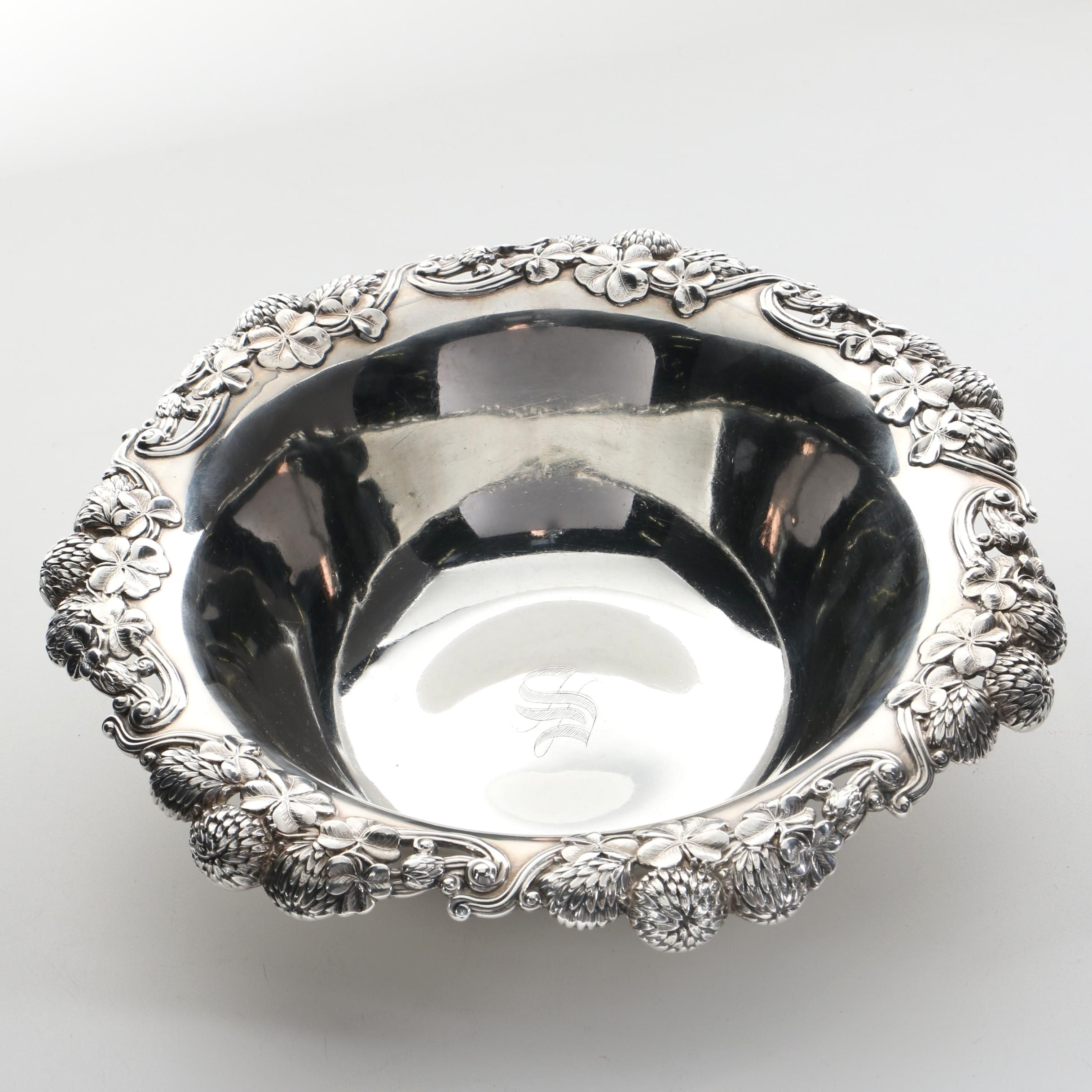 Antique 1902 Tiffany & Co. Sterling Silver Bowl